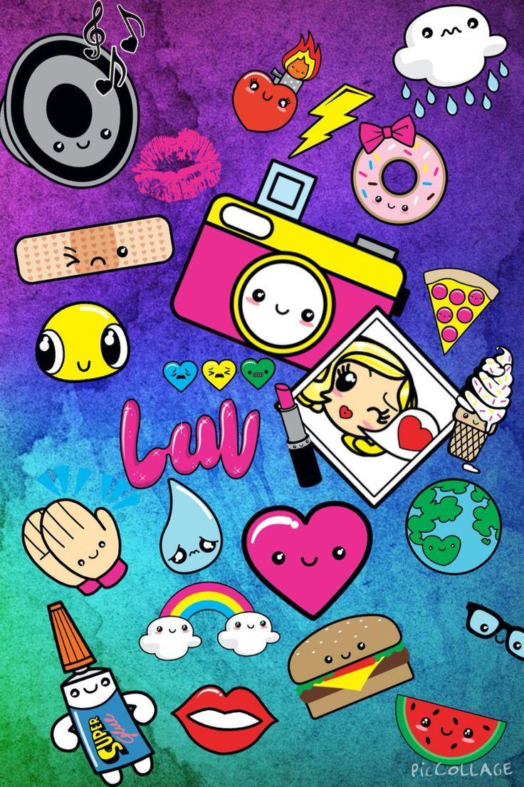 cute wallpapers girly fun iphone funny shopkins kawaii aesthetic cartoons quote crazy