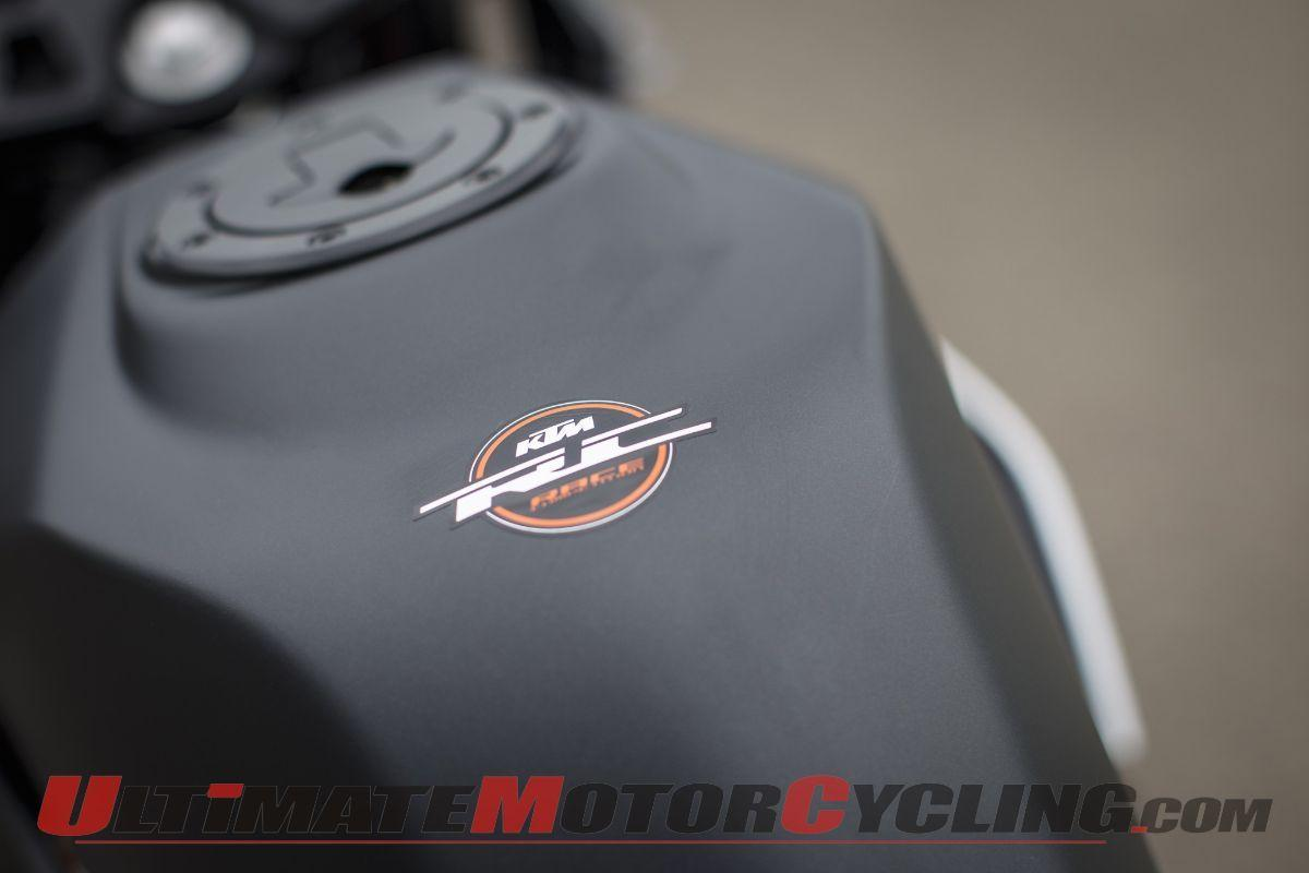 2015 KTM RC390 Photo Gallery