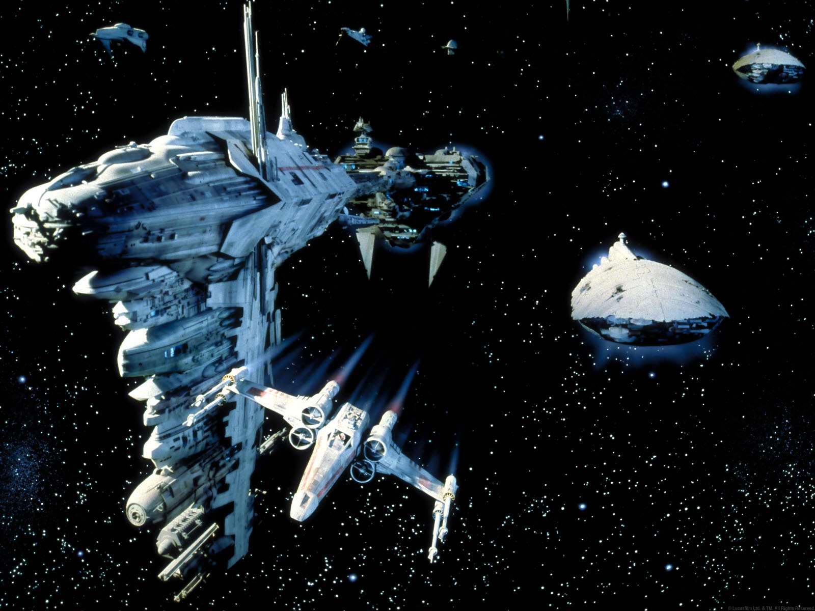 Star Wars Ships Wallpapers Wallpaper Cave