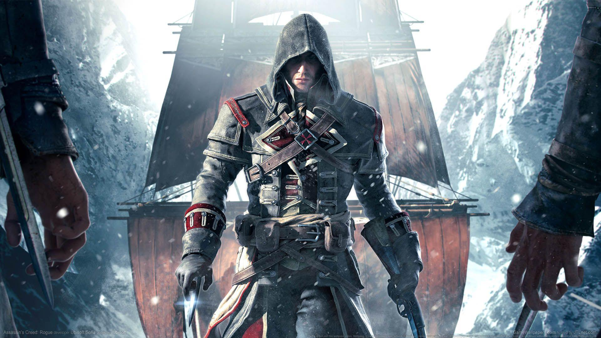 Fondos de pantalla de assassins creed rogue