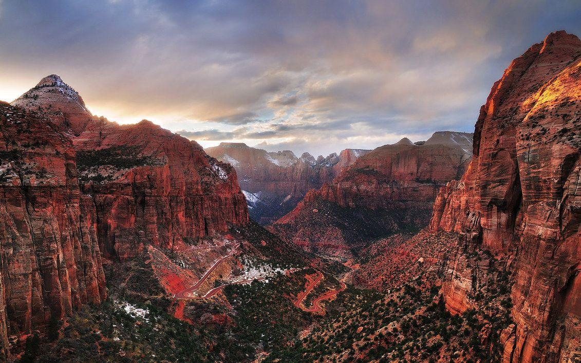 Zion National Park HD Wallpaper | Wallpapers | Pinterest | Hd ...