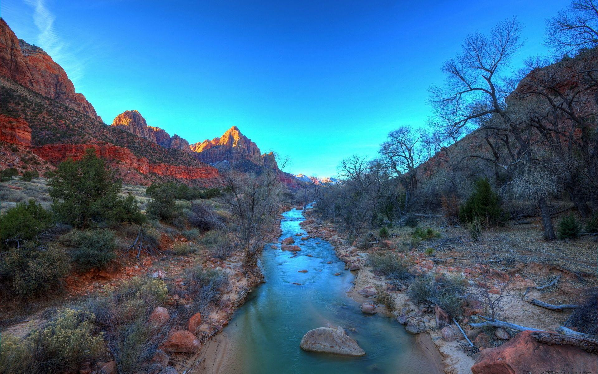 Zion national park : wallpapers