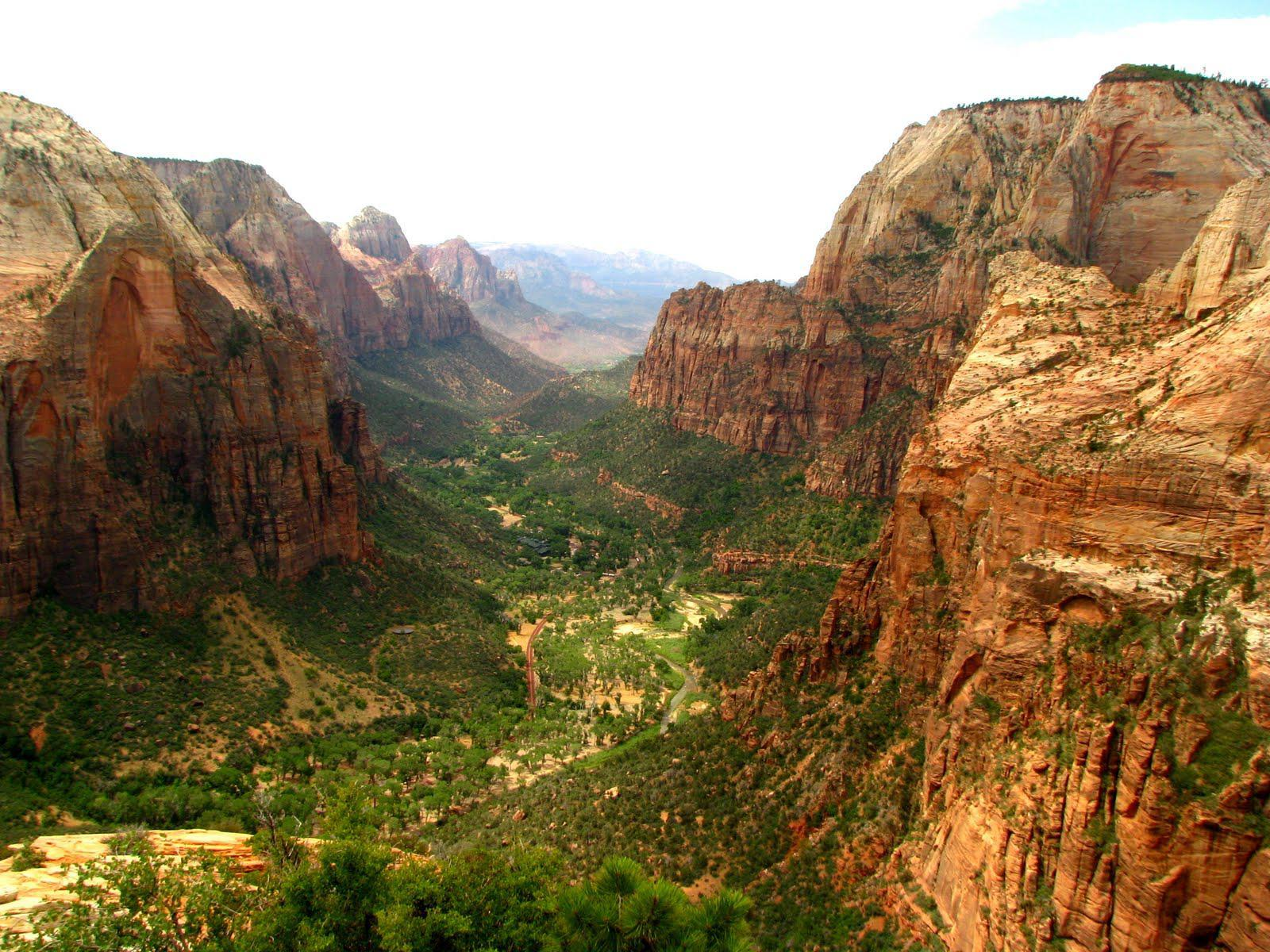 Zion National Park HD wallpaper #1520505