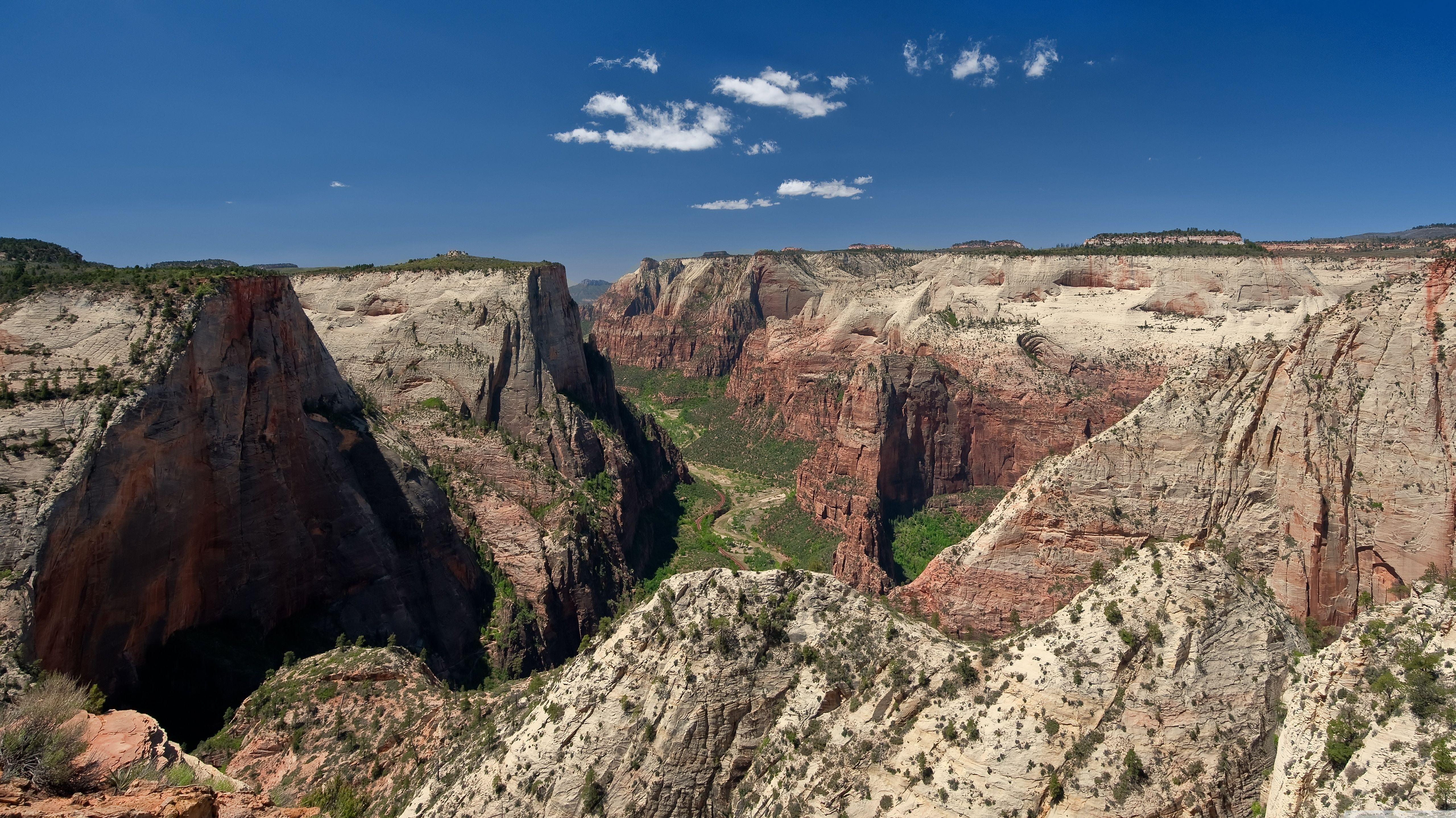 Zion National Park Observation Point HD desktop wallpaper ...