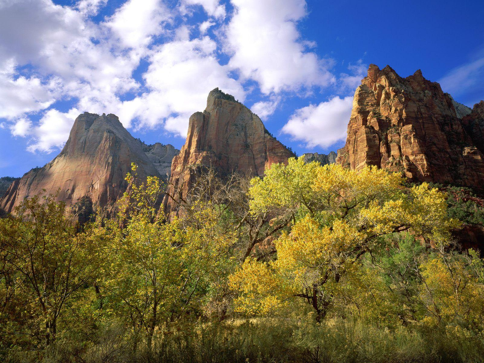 Three Patriarchs Zion National Park #4199031, 1600x1200 | All For ...