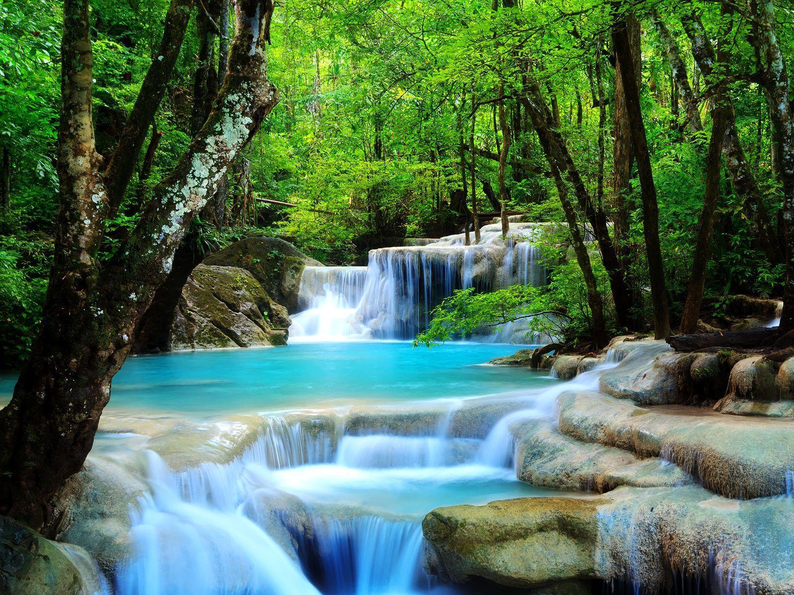 Pretty Waterfalls Wallpapers Wallpaper Cave