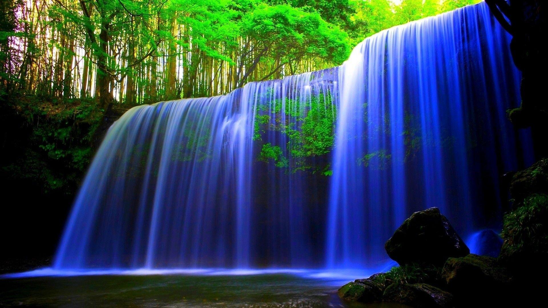 Beautiful Waterfalls Wallpaper 6964689