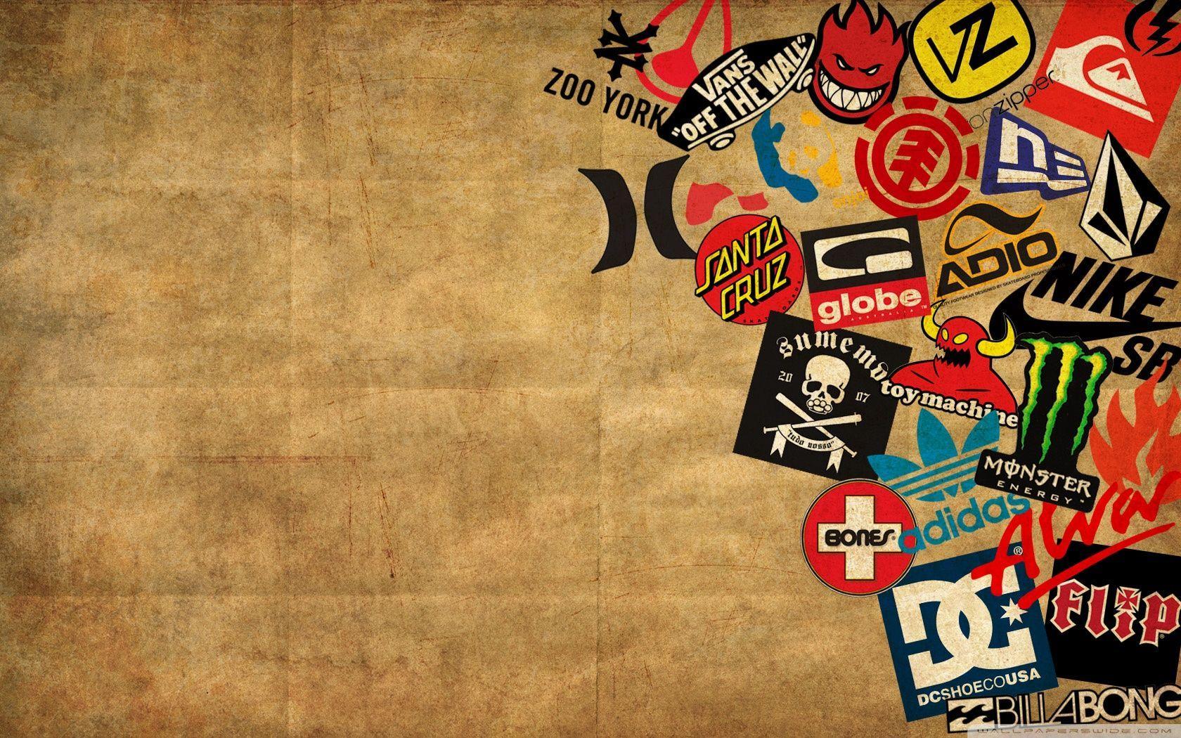 Skate Brand Wallpapers Group (61+)