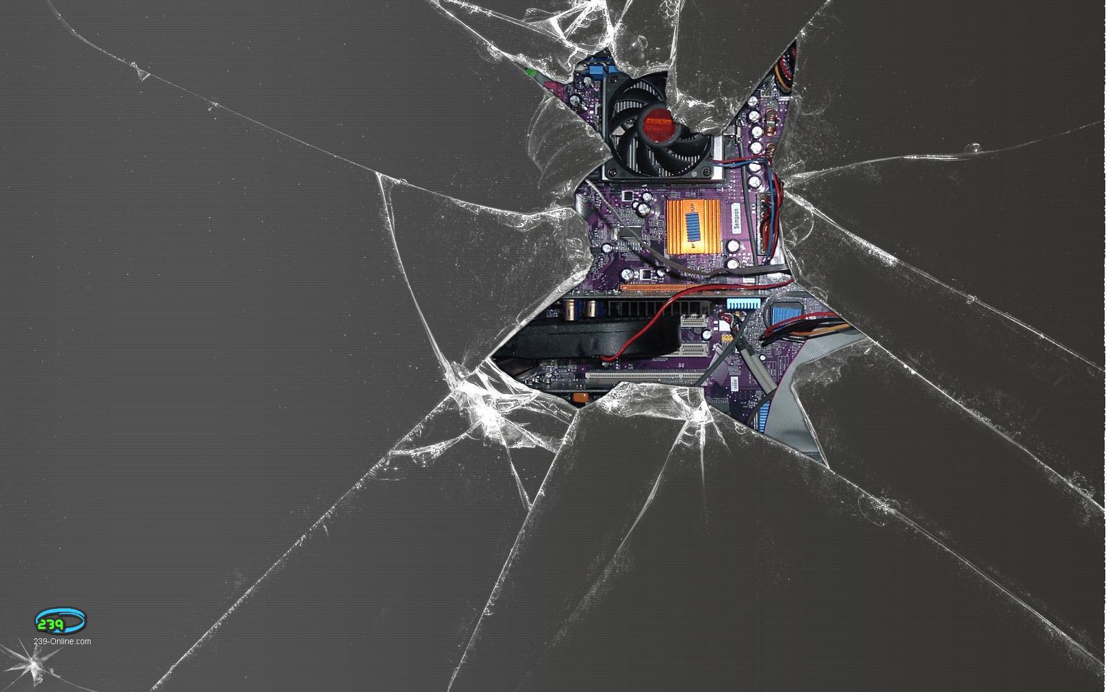 crack screen wallpaper for ios