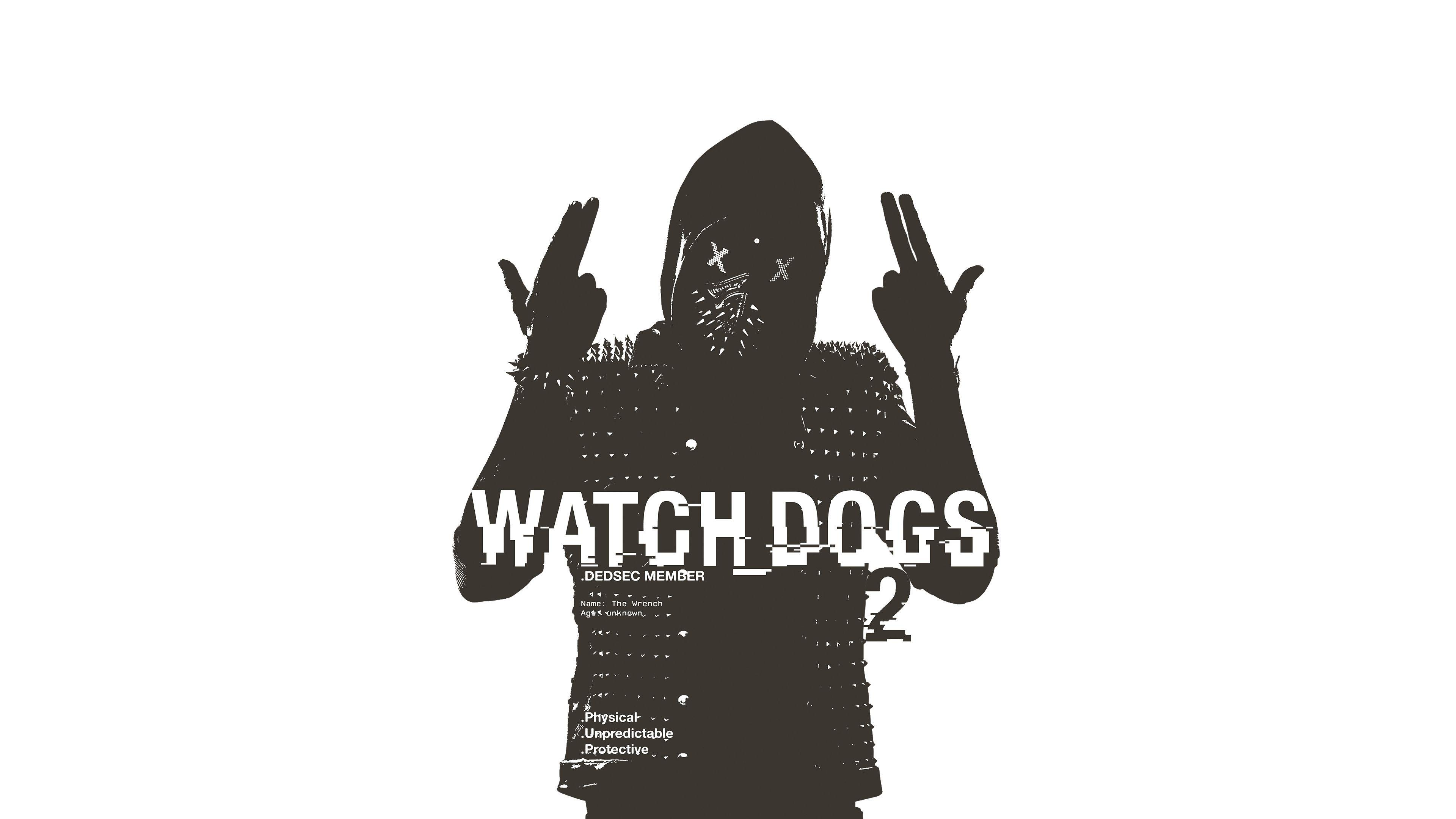 Watch Dogs 2 Wrench Poster | Games HD 4k Wallpapers
