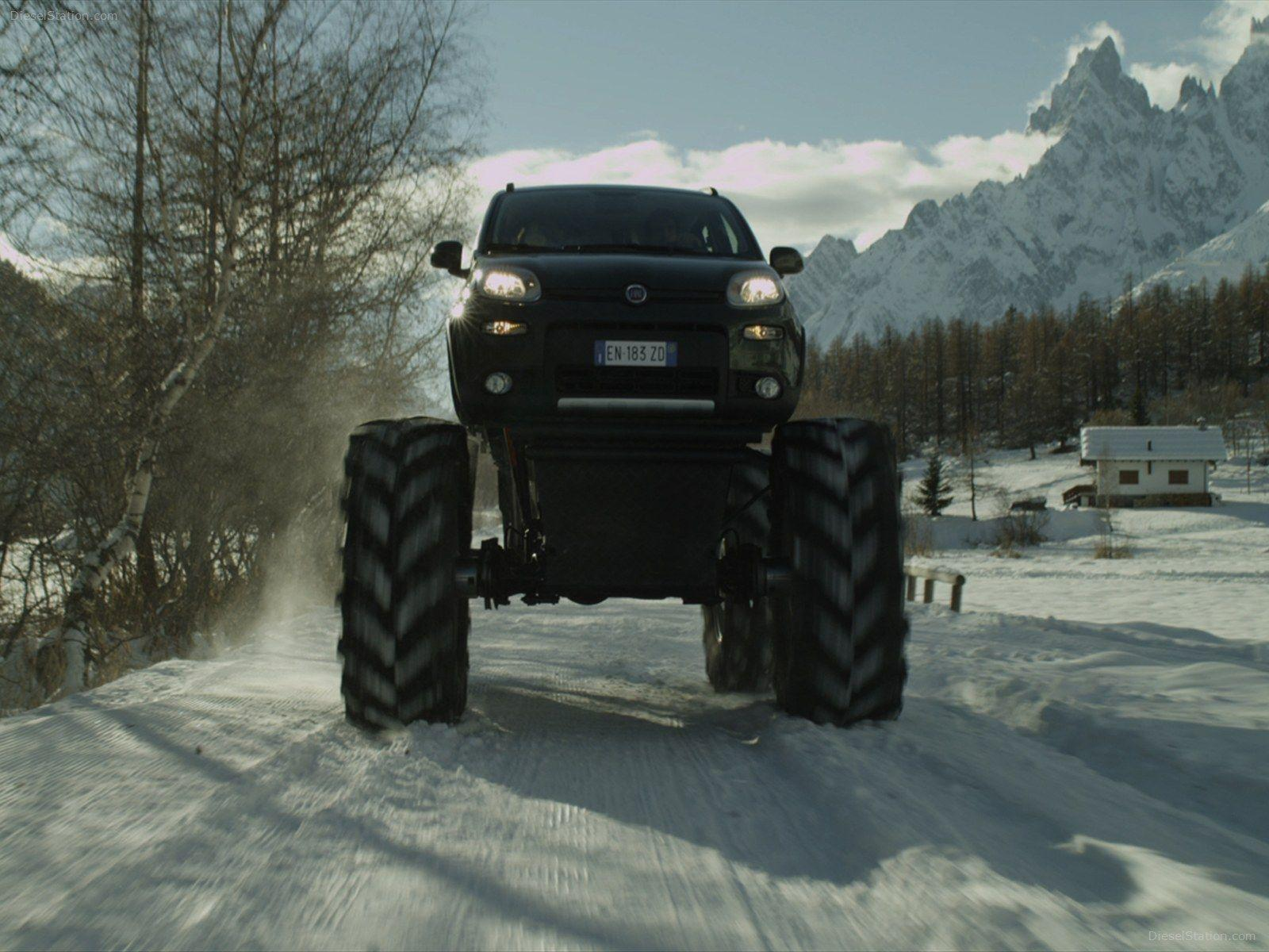 Fiat Panda Monster Truck 2013 Exotic Car Wallpaper #03 of 8 : Diesel ...
