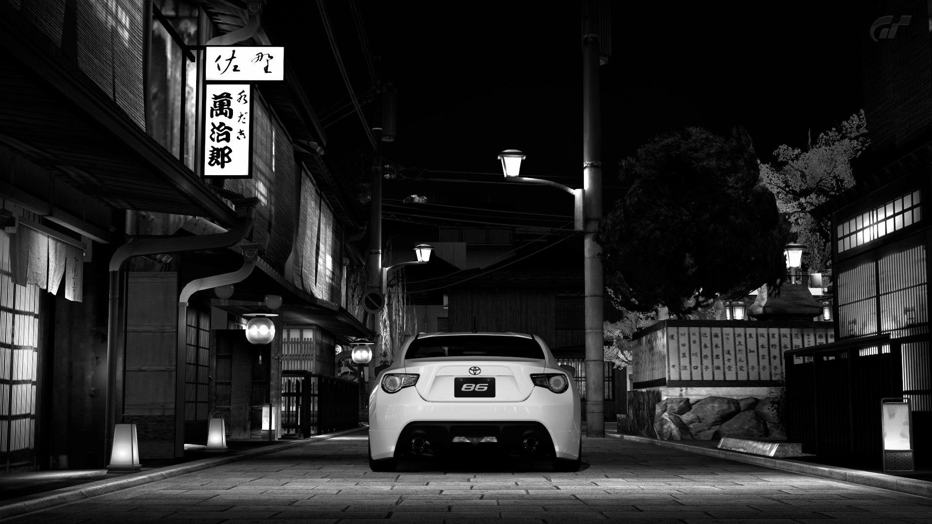 Toyota gt 86 wallpapers wallpaper cave - Car wallpaper black and white ...