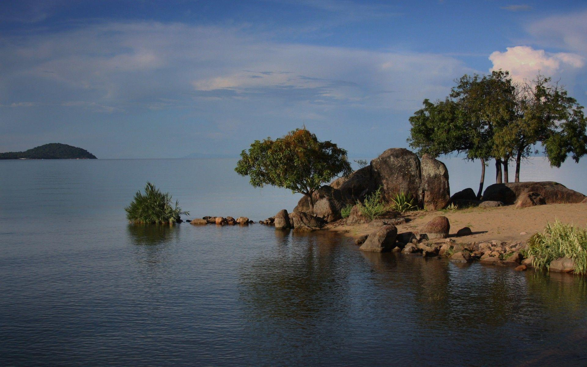Lake Malawi East Africa wallpapers | Lake Malawi East Africa stock ...