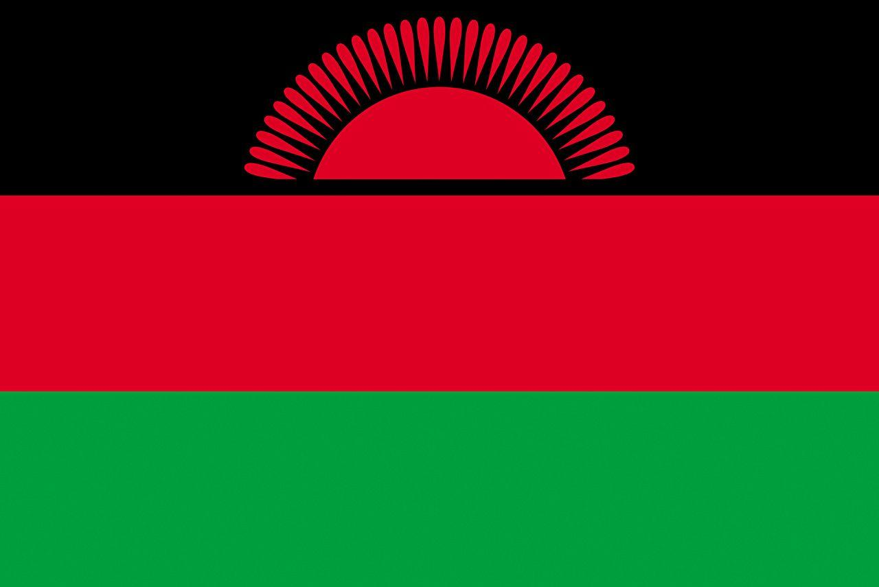 Malawi Flag Stripes