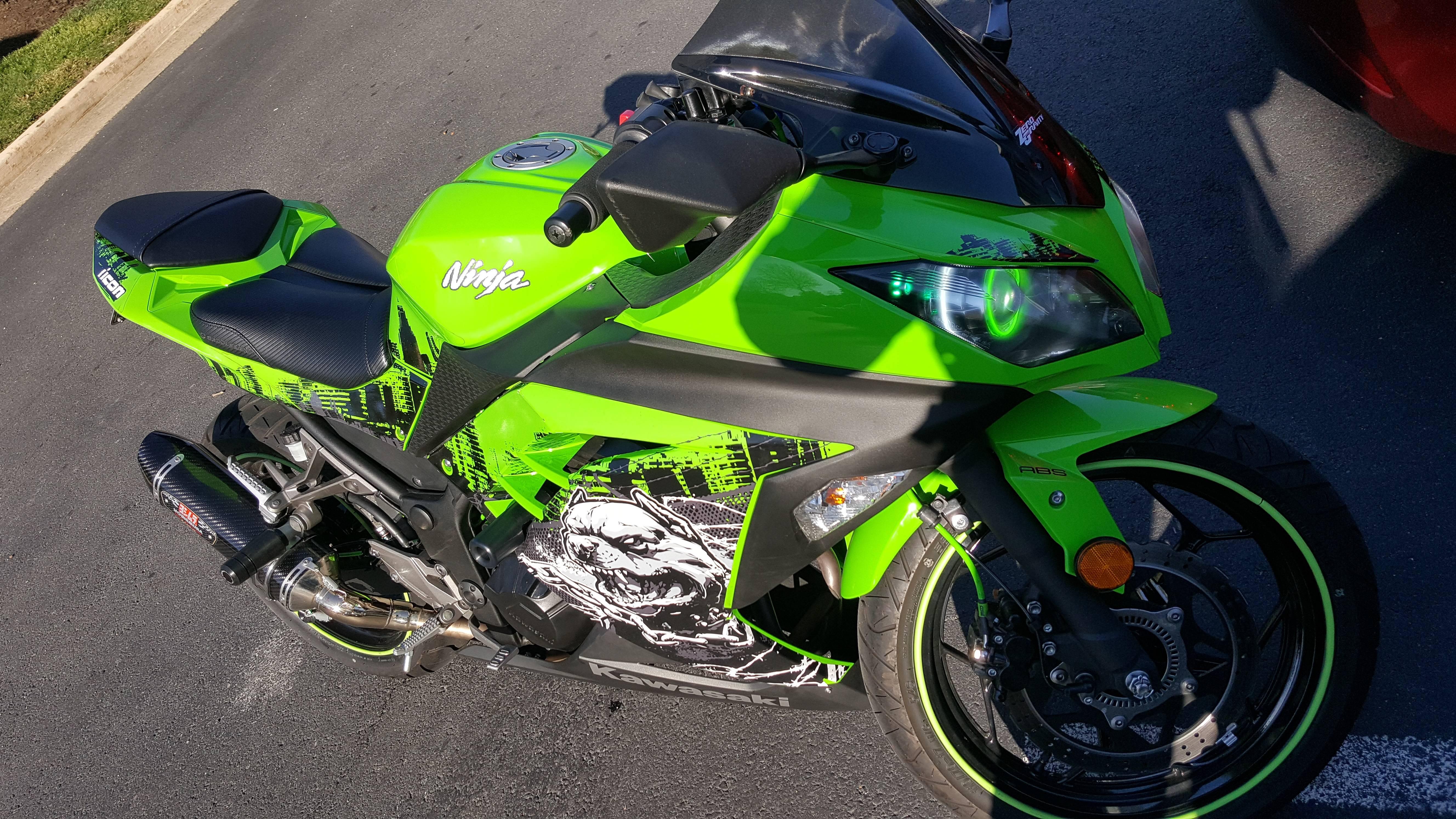 Green Beast Kawasaki Ninja 300