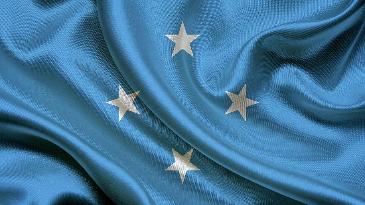 Micronesia Light Blue Flag