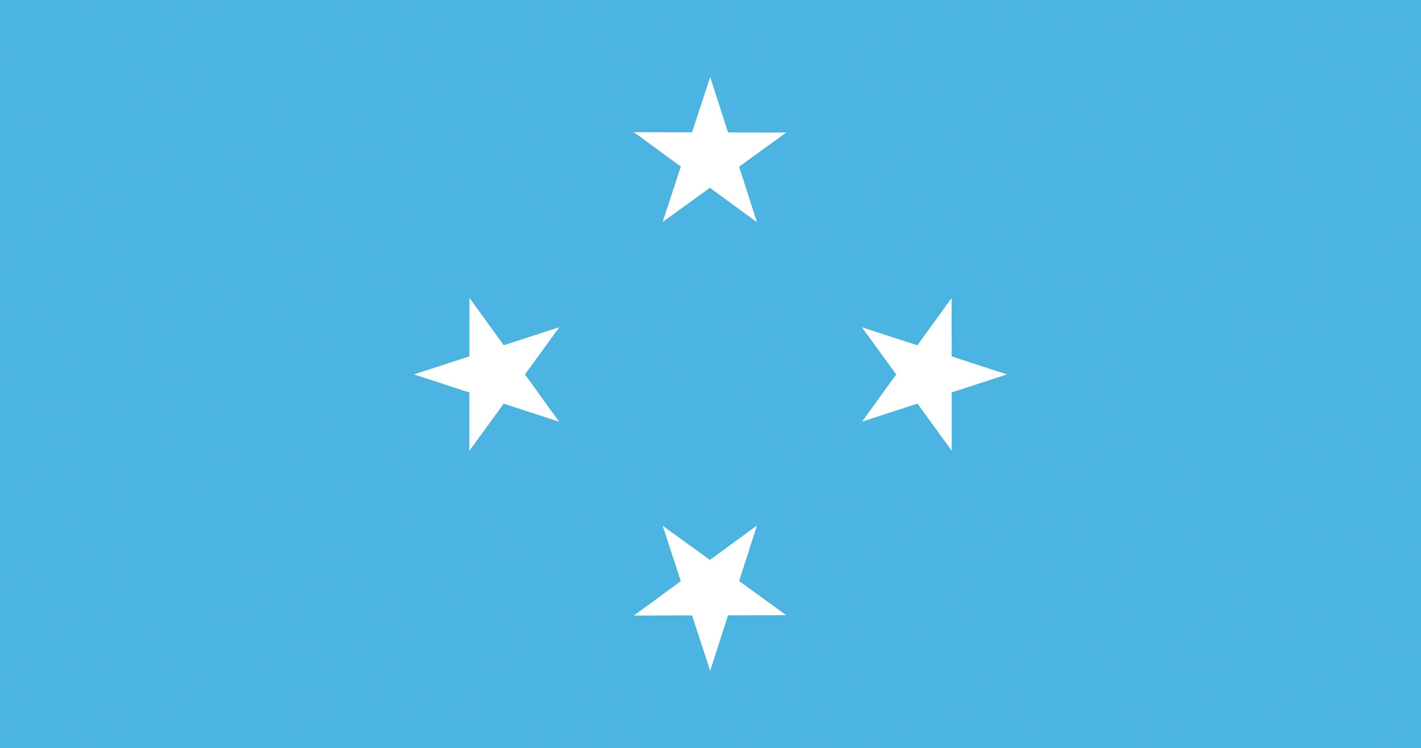 Federated States of Micronesia Flag 4805x2529
