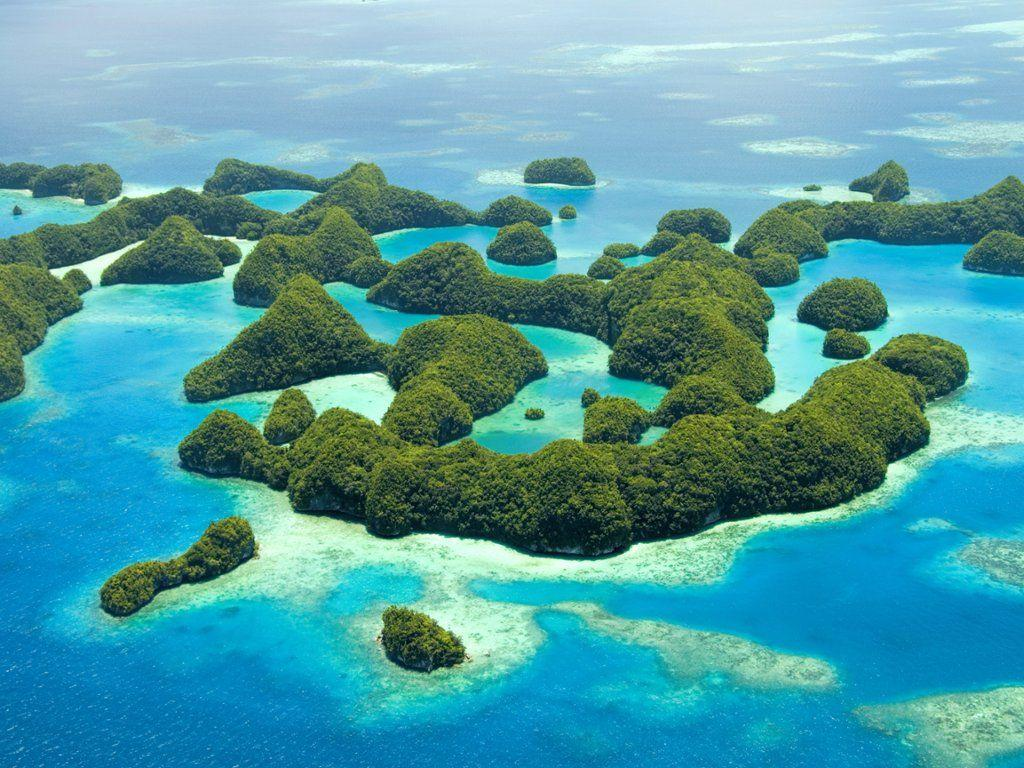 Ngerukewid Islands Wildlife Preserve, Palau, Micronesia | Webshots ...