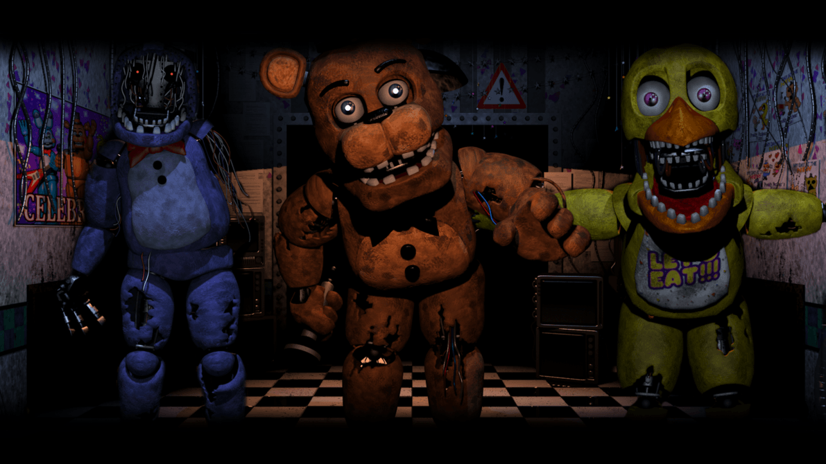 FNAF 2 Wallpapers - Wallpaper Cave