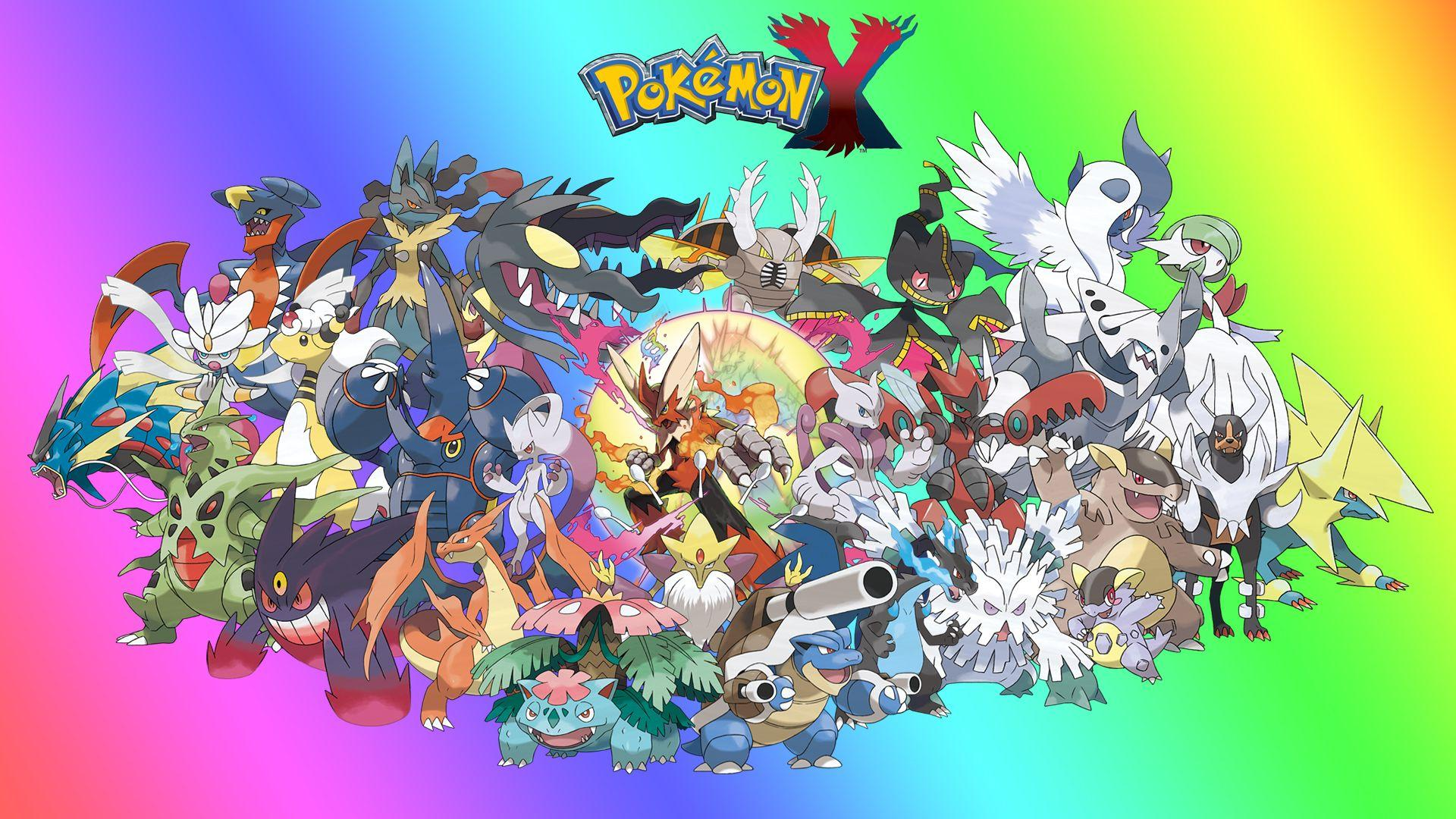 Pok mon mega evolution wallpapers wallpaper cave - Pokemon y mega evolution ...