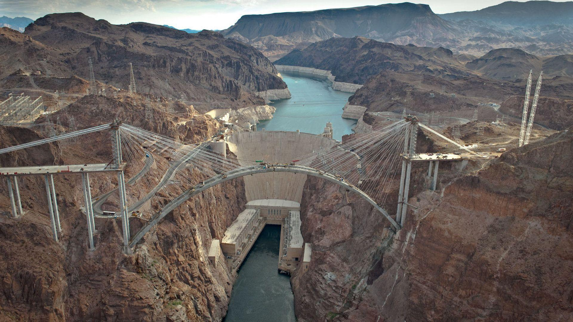 Known places: Hoover Dam Bypass, desktop wallpapers nr. 38561