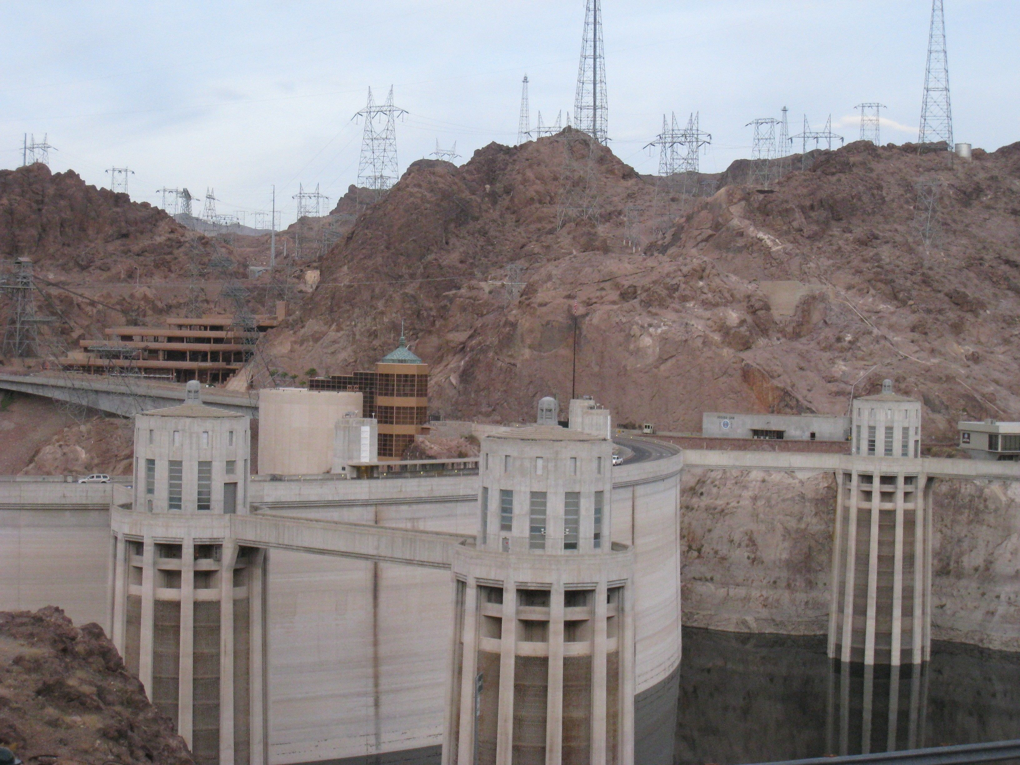 Modern: Hoover Dam Nv Nevada Dams Wallpapers for HD 16:9 High