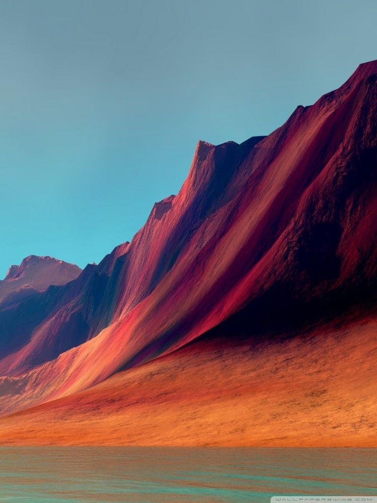 Red Mountains - LG G Flex HD desktop wallpaper : Widescreen : High ...