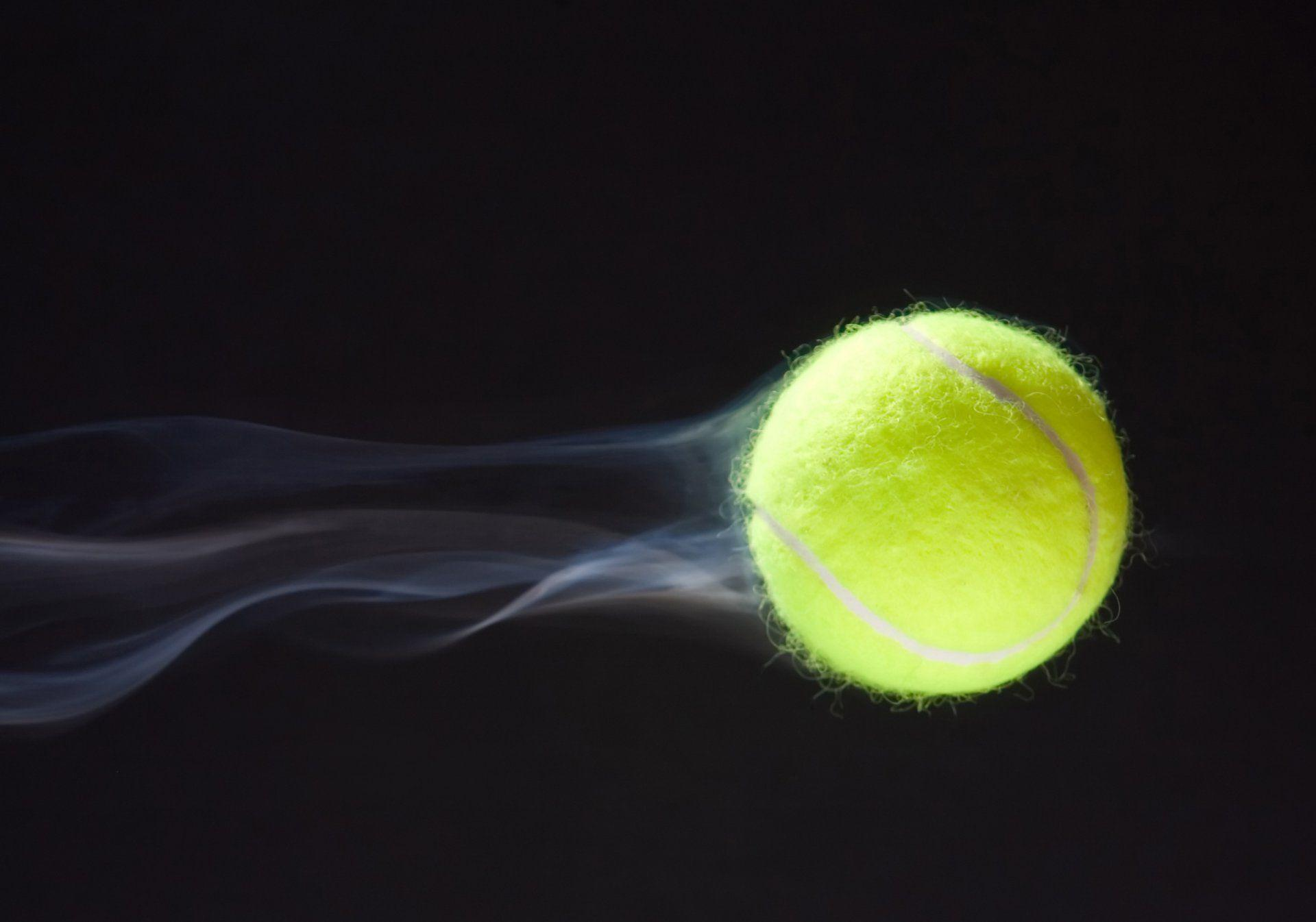 tennis ball tennis ball tennis tennis trajectory of the flight ...