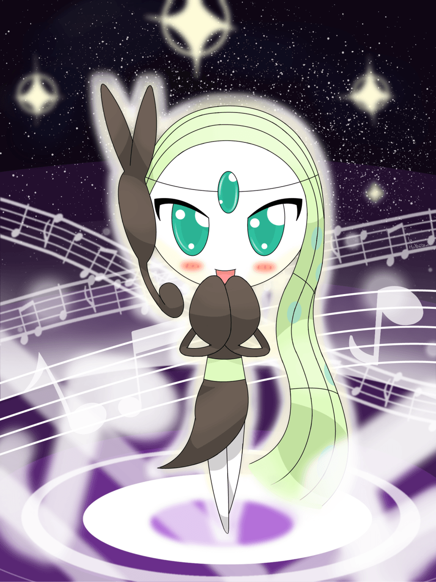 meloetta sing~~~~ by hoyeechun on DeviantArt