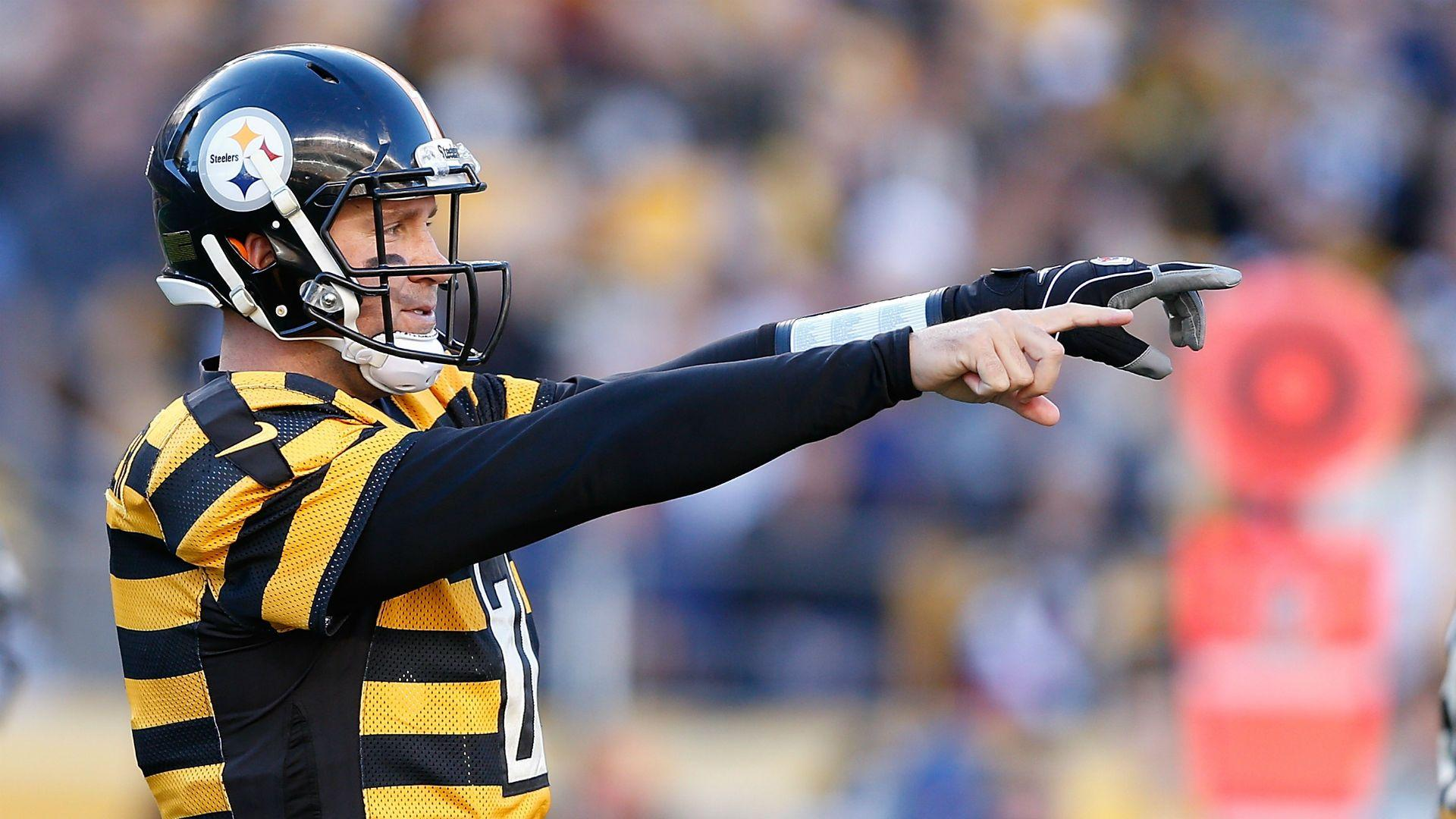 Ben Roethlisberger gets punt blocked by Colts