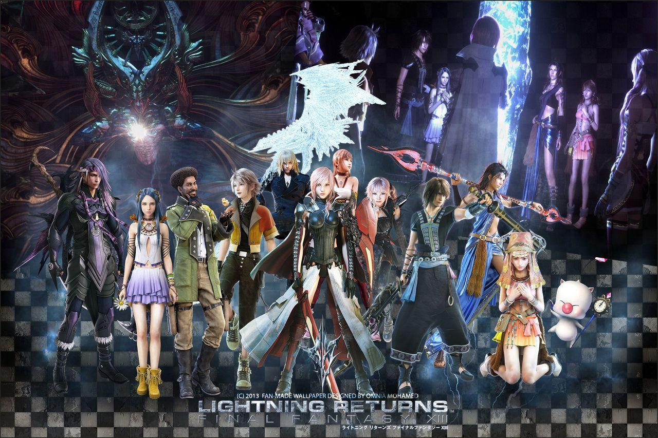 Lightning Returns Final Fantasy Xiii Wallpapers Wallpaper Cave