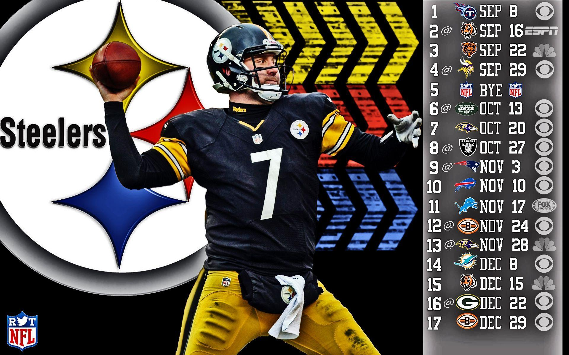 Steelers Wallpapers Schedule Group