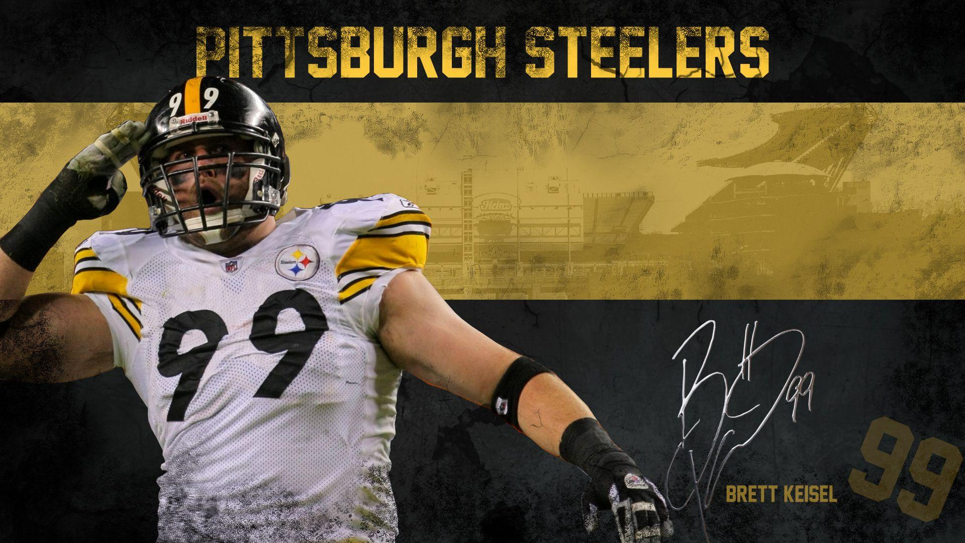 Pittsburgh Steelers image Brett Keisel Wallpapers HD wallpapers and