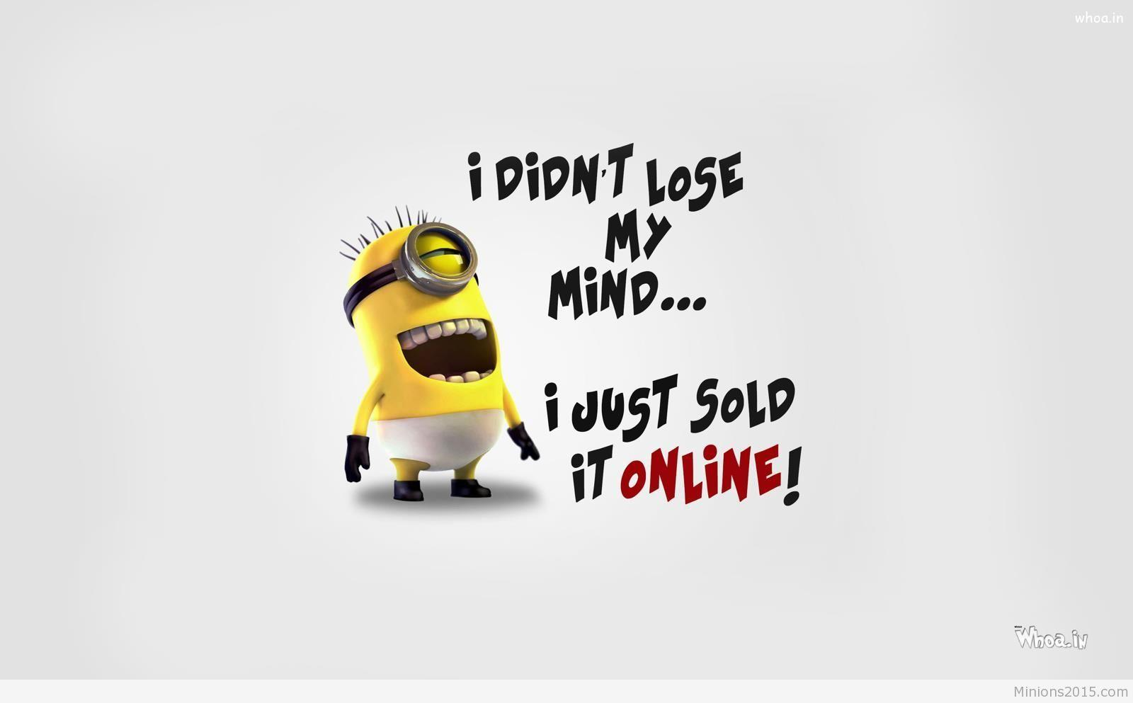 Despicable Me 3 Funny Quote Wallpaper #5302 Wallpaper Themes .