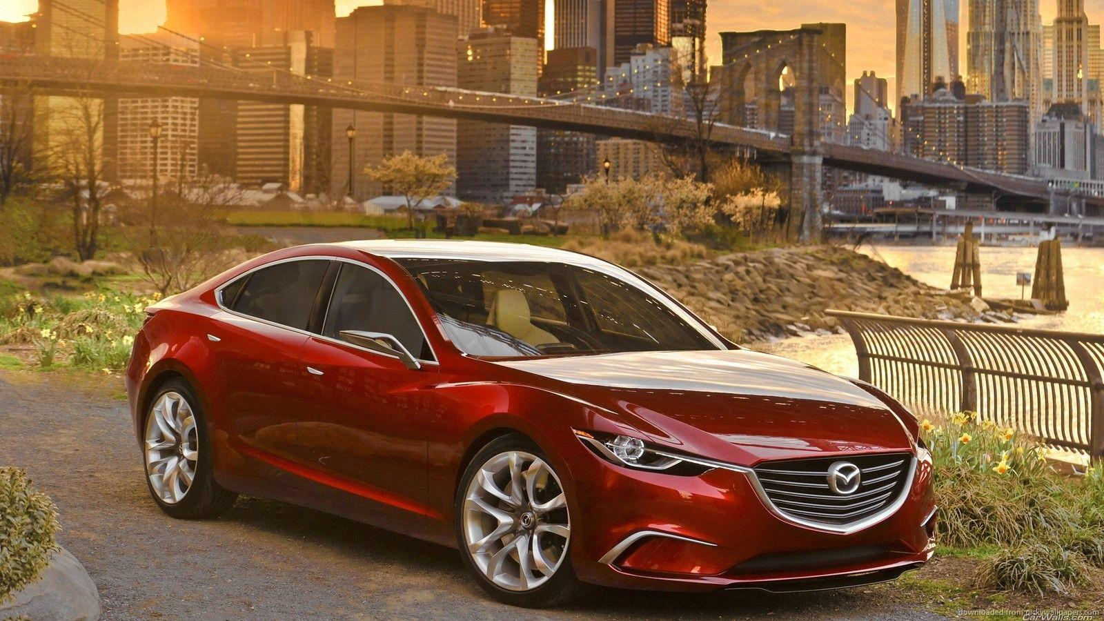 Download 1600x900 Mazda 6 New York Wallpaper