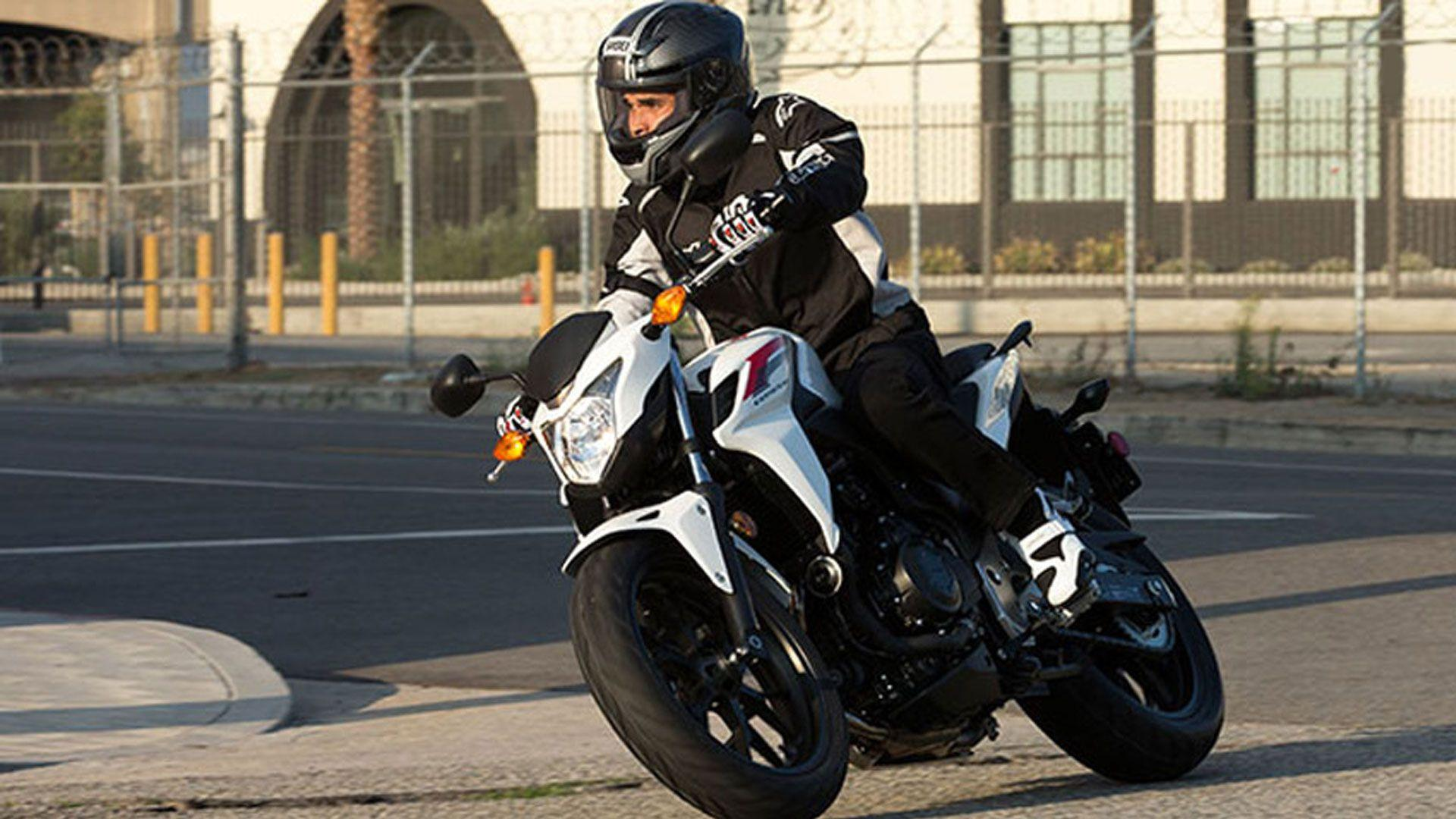 Honda CB500F Abs Review 2014 ABS Full And