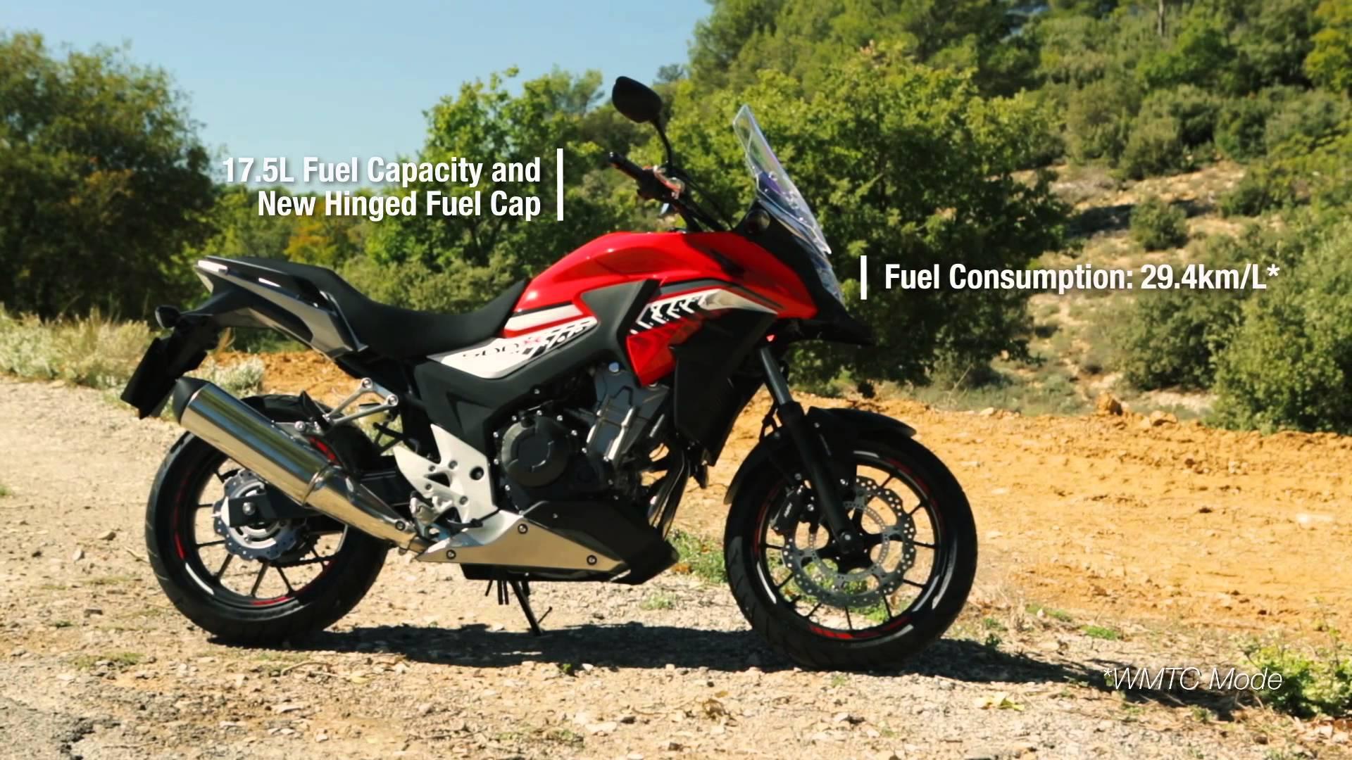 2016 Honda CB500X Motorcycle