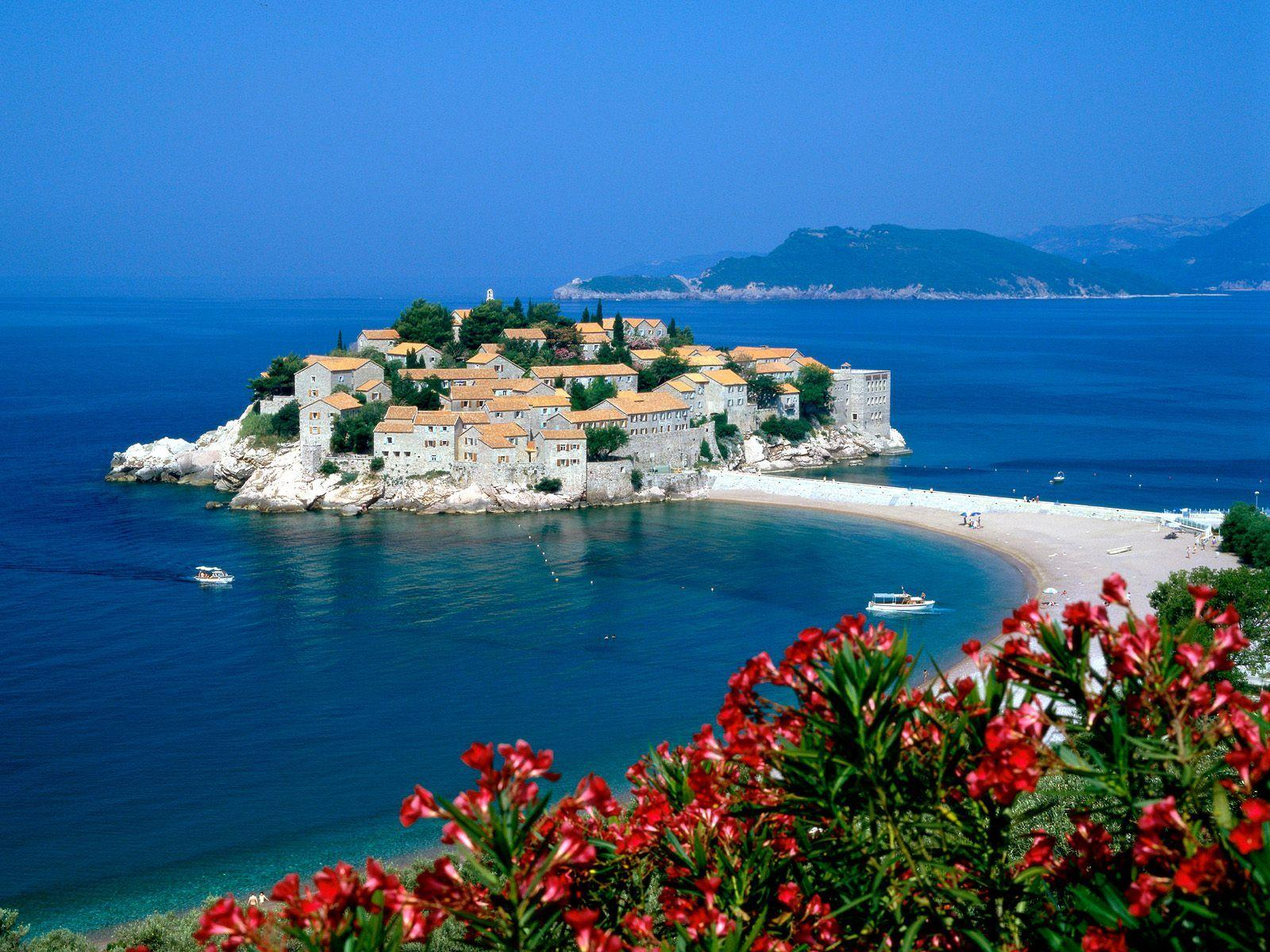 Sveti Stefan, Serbia and Montenegro - Free HD wallpapers, Iphone ...