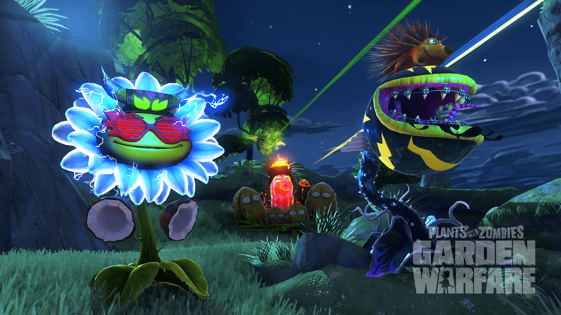 Plants Vs Zombies Garden Warfare Wallpapers Wallpaper Cave