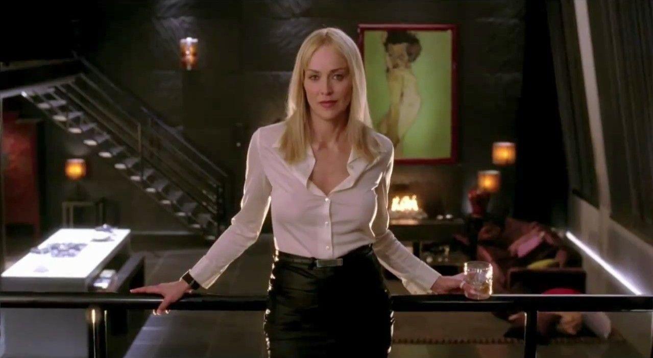 Sharon Stone As Catherine Tramell Youtube Fabulous Sharon Stone