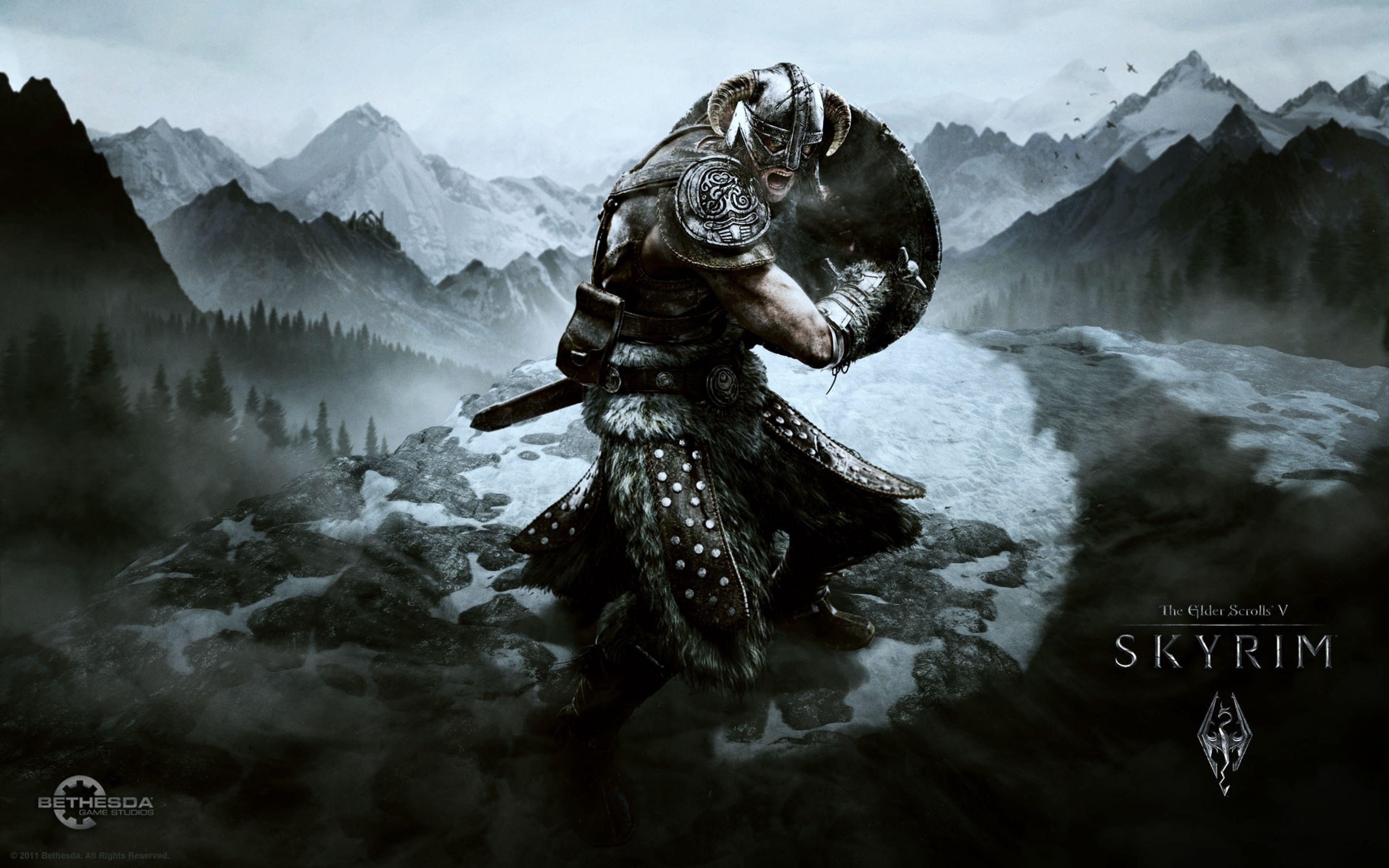 The Elder Scrolls V Skyrim Wallpapers Wallpaper Cave