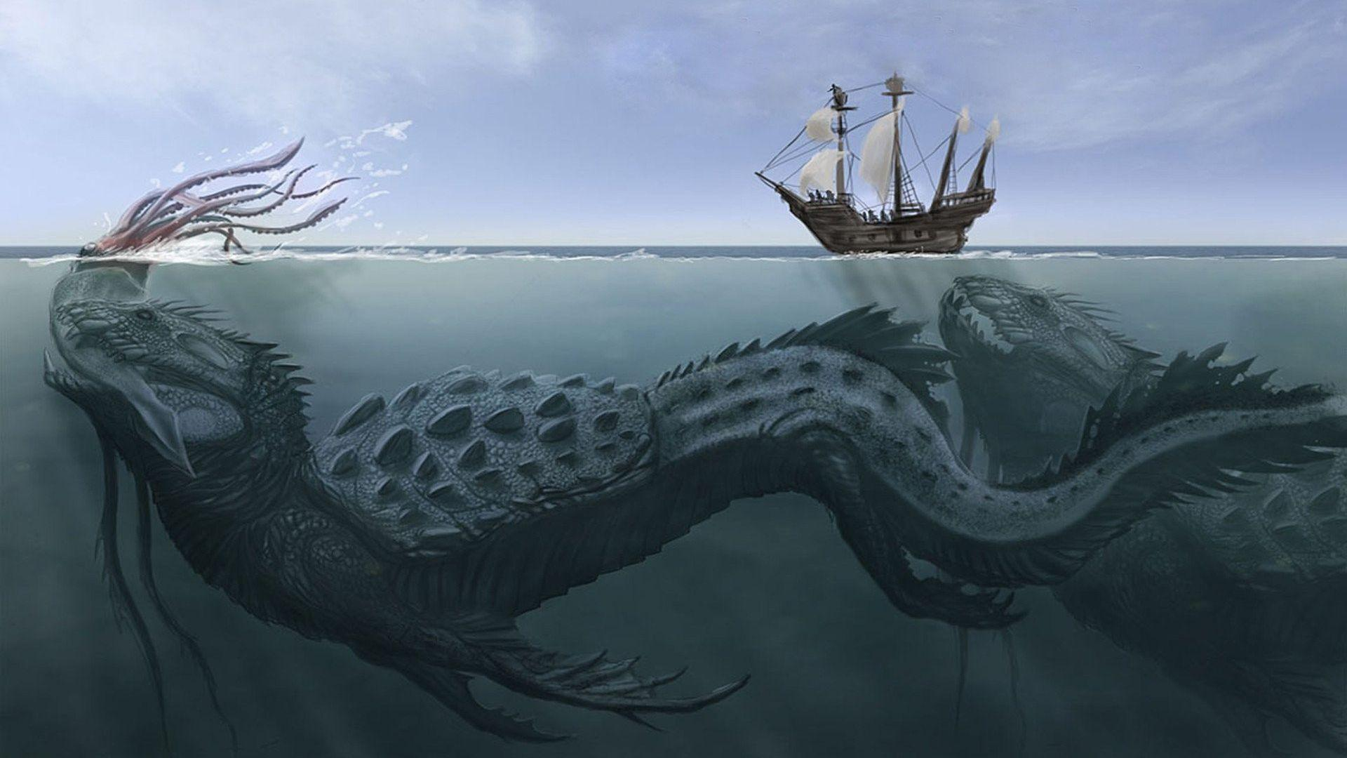Sea Monster HD Wallpapers | Live HD Wallpaper HQ Pictures, Images ...