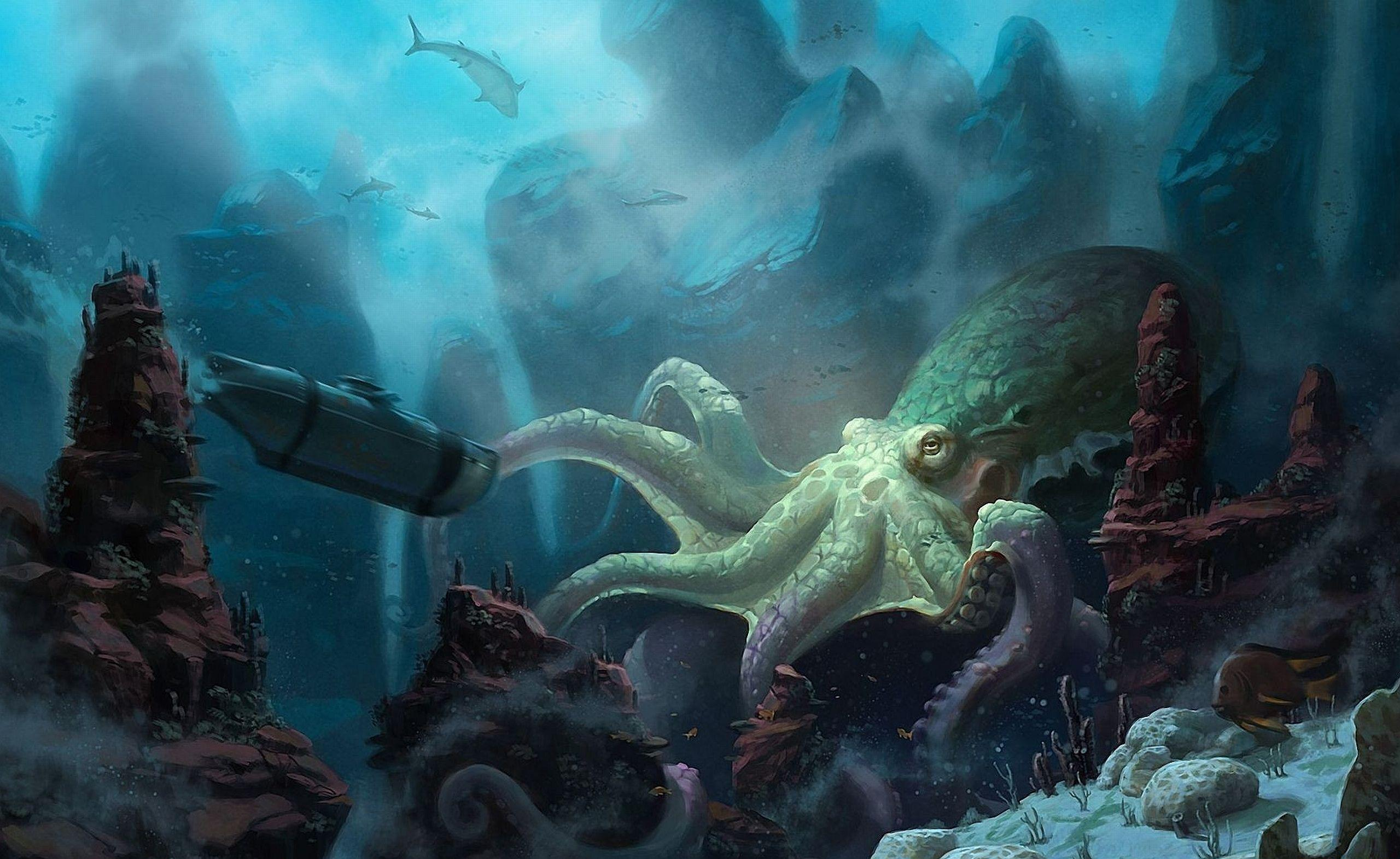 132 Sea Monster HD Wallpapers | Backgrounds - Wallpaper Abyss - Page 3