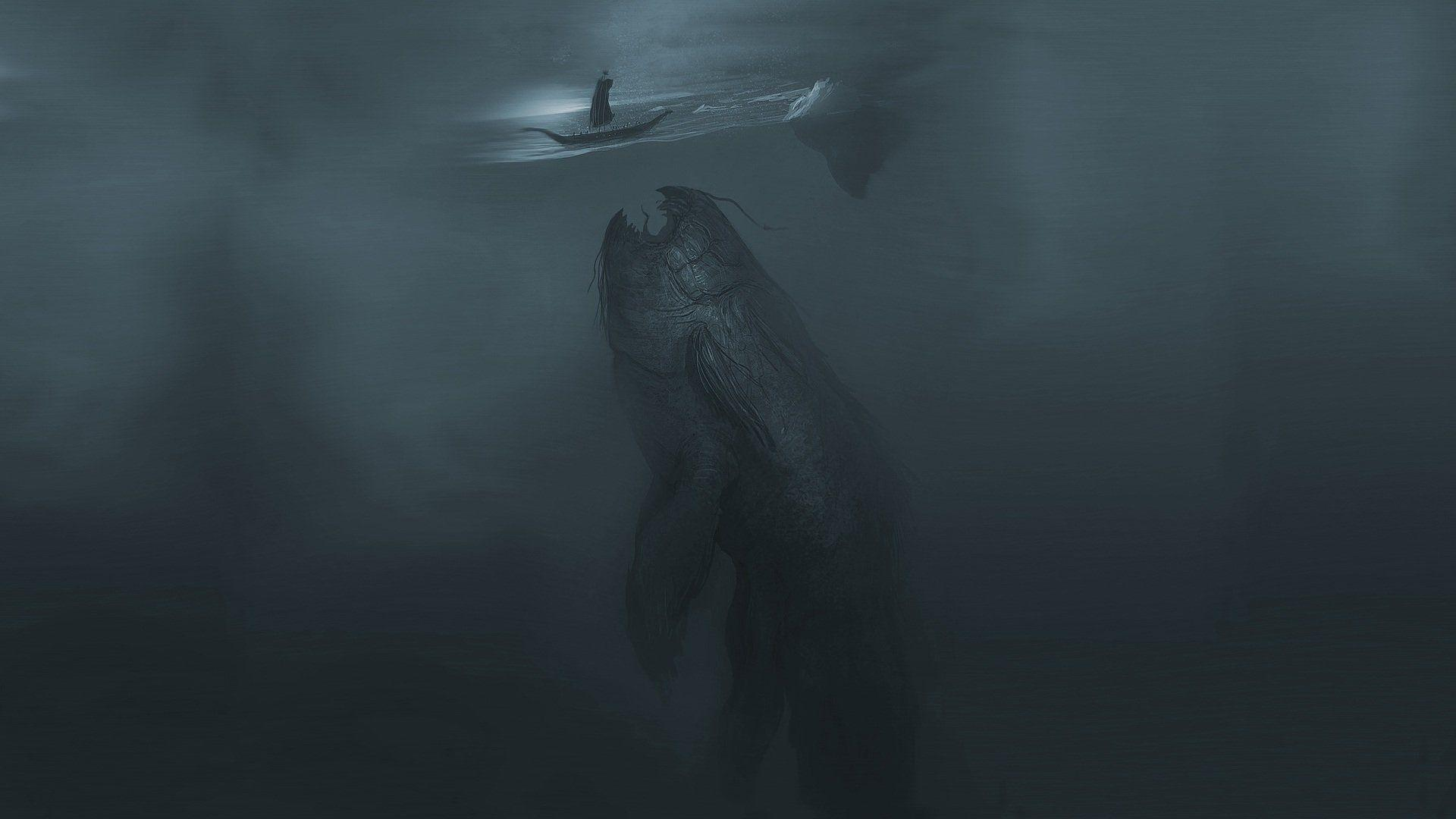 132 Sea Monster HD Wallpapers | Backgrounds - Wallpaper Abyss - Page 2
