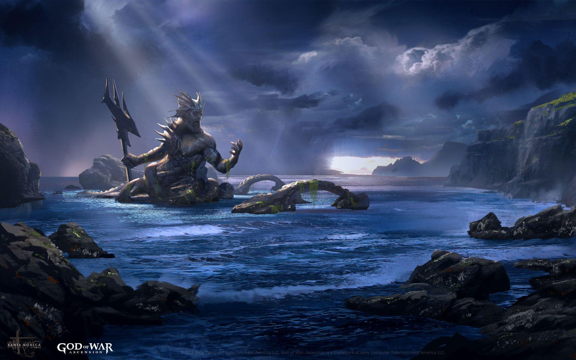God of War: Ascension: sea monster wallpapers and images ...