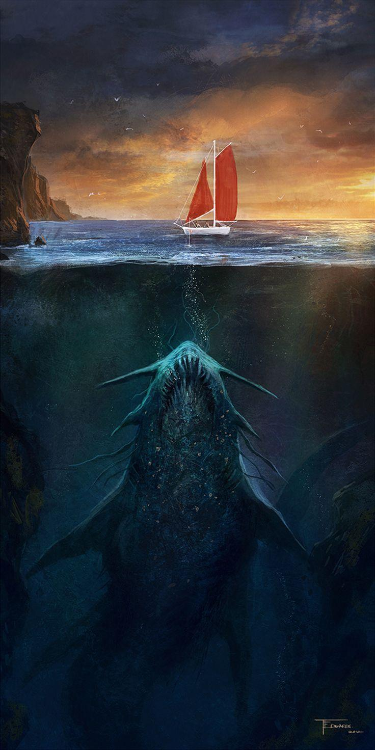 Best 25+ Sea monsters ideas only on Pinterest | Mythical sea ...