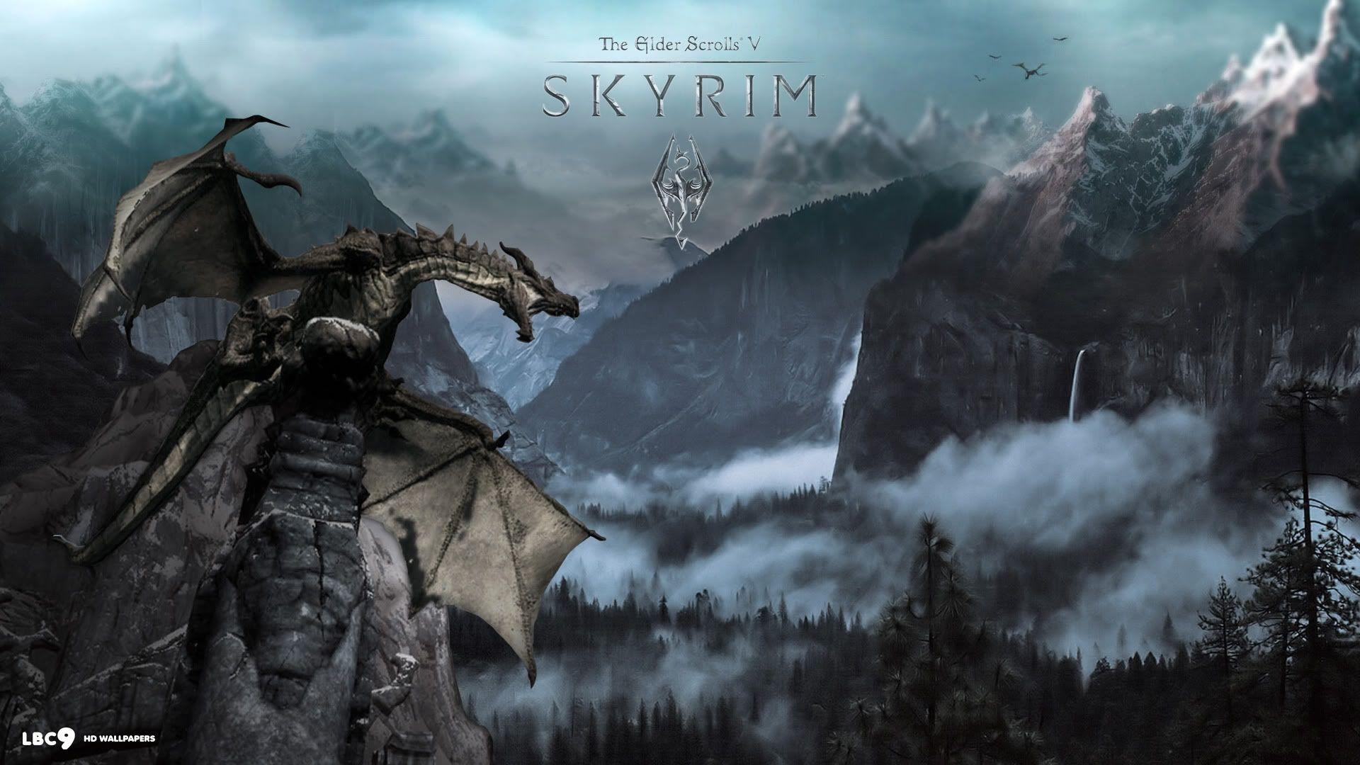 the elder scrolls v skyrim wallpaper 1/9 | role playing games hd ...