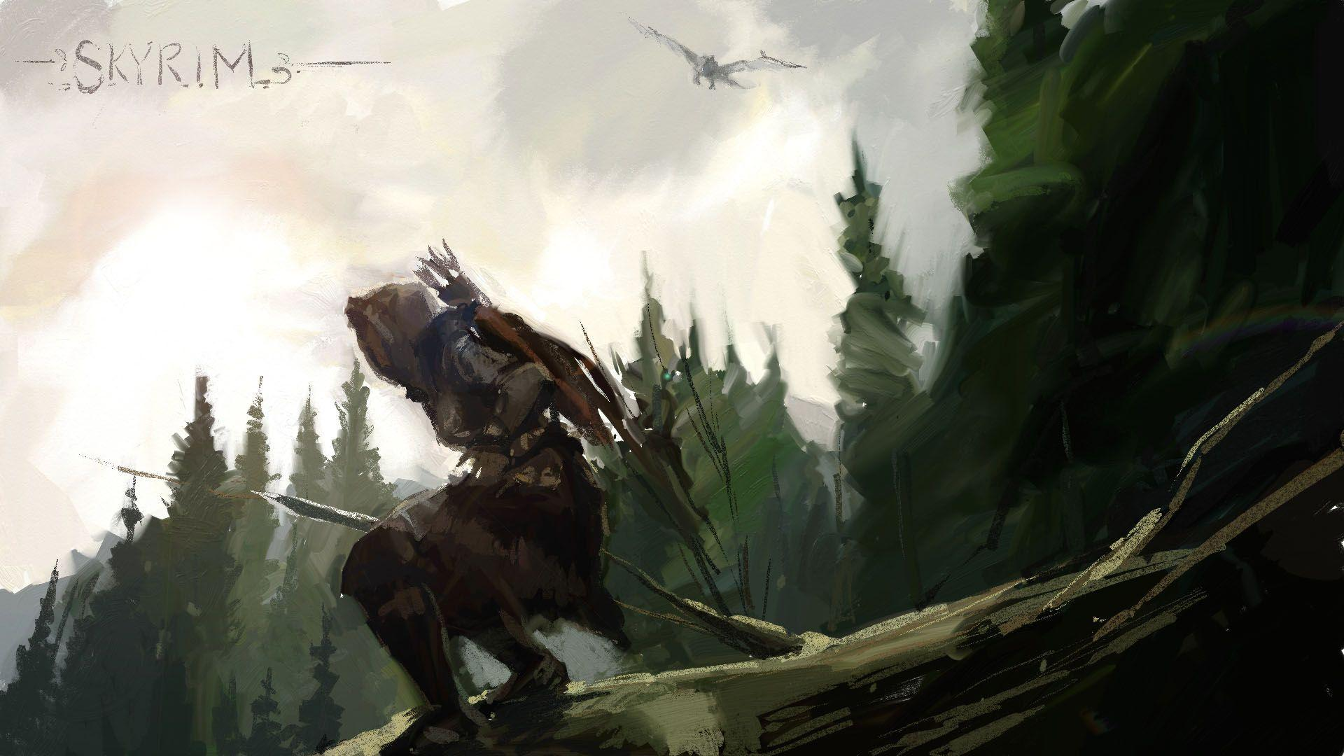 Awesome Skyrim Backgrounds » Download Wallpaper
