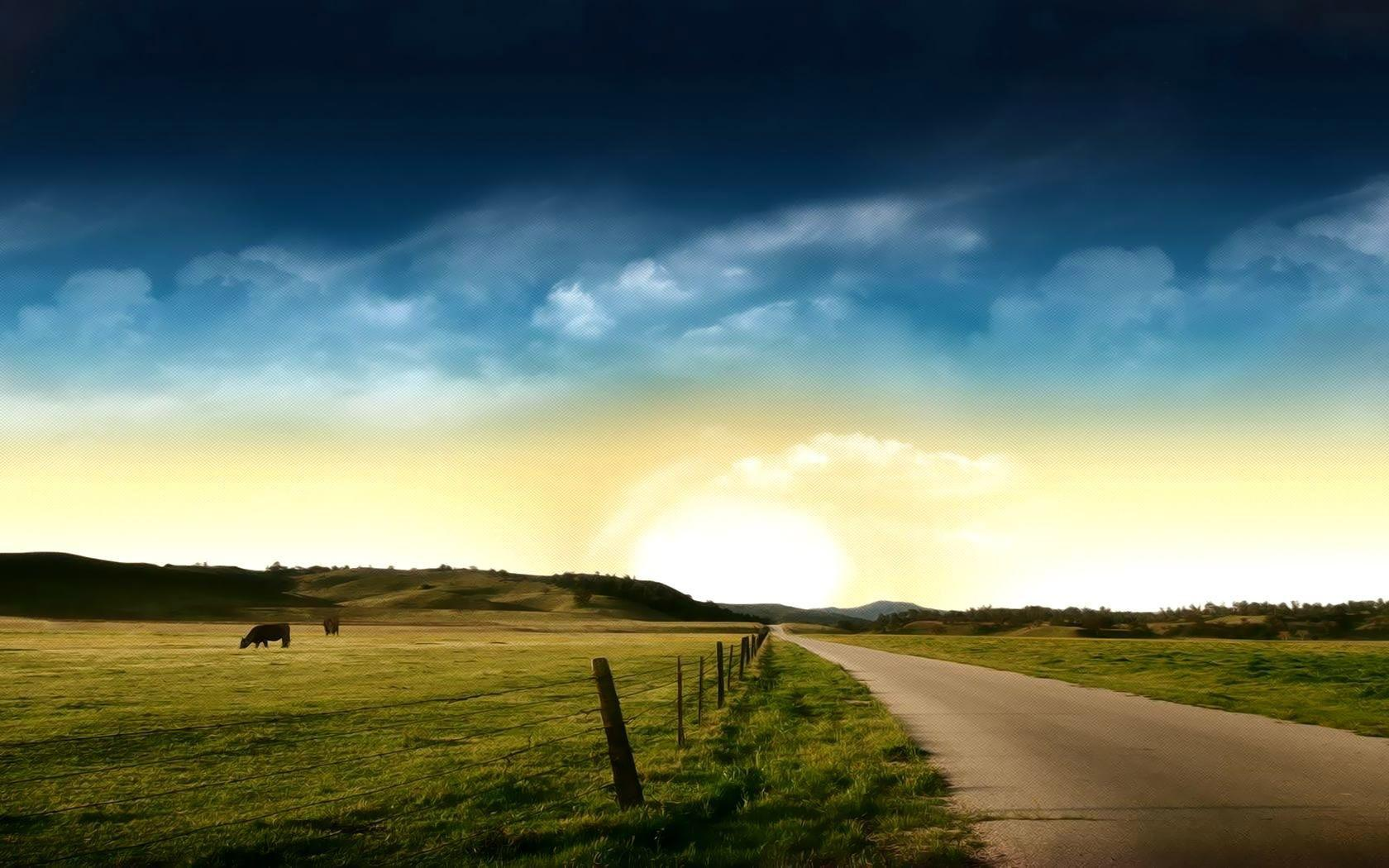 The prairie landscape photography wallpaper Desktop Background ...