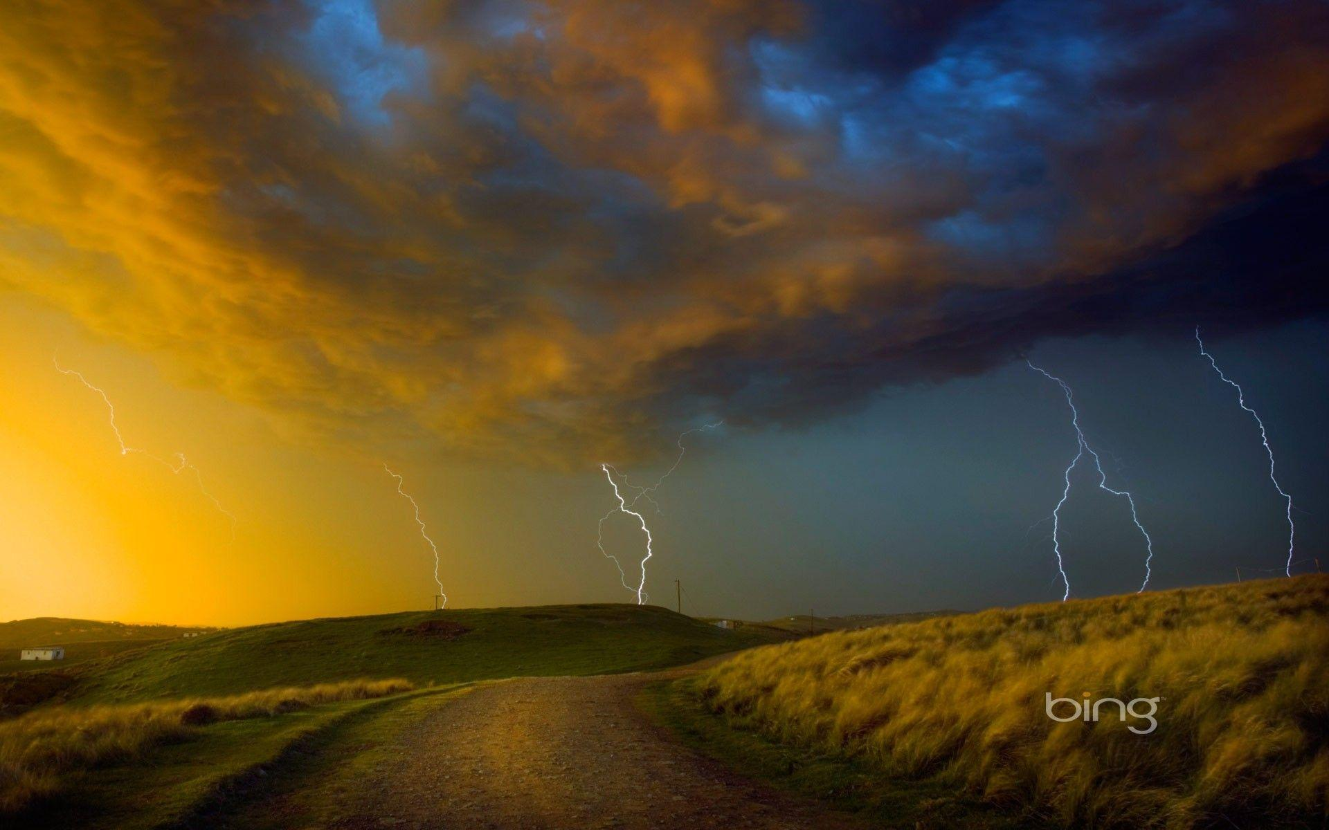 Forces of Nature: Namibia Sky Clouds Africa Lightning Cloud ...
